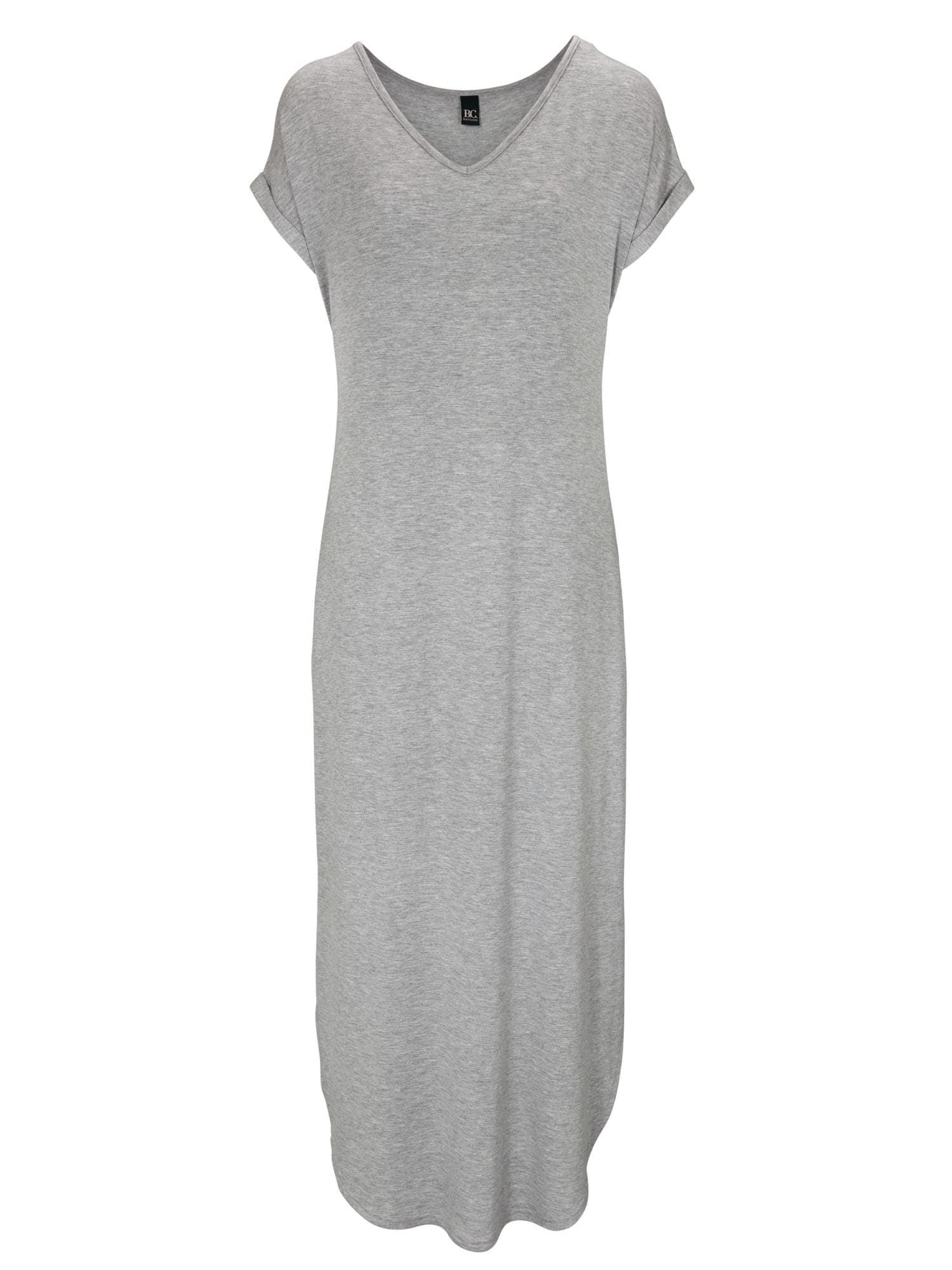Shirtkleid in aktueller Maxilänge | Bekleidung > Kleider > Shirtkleider | heine