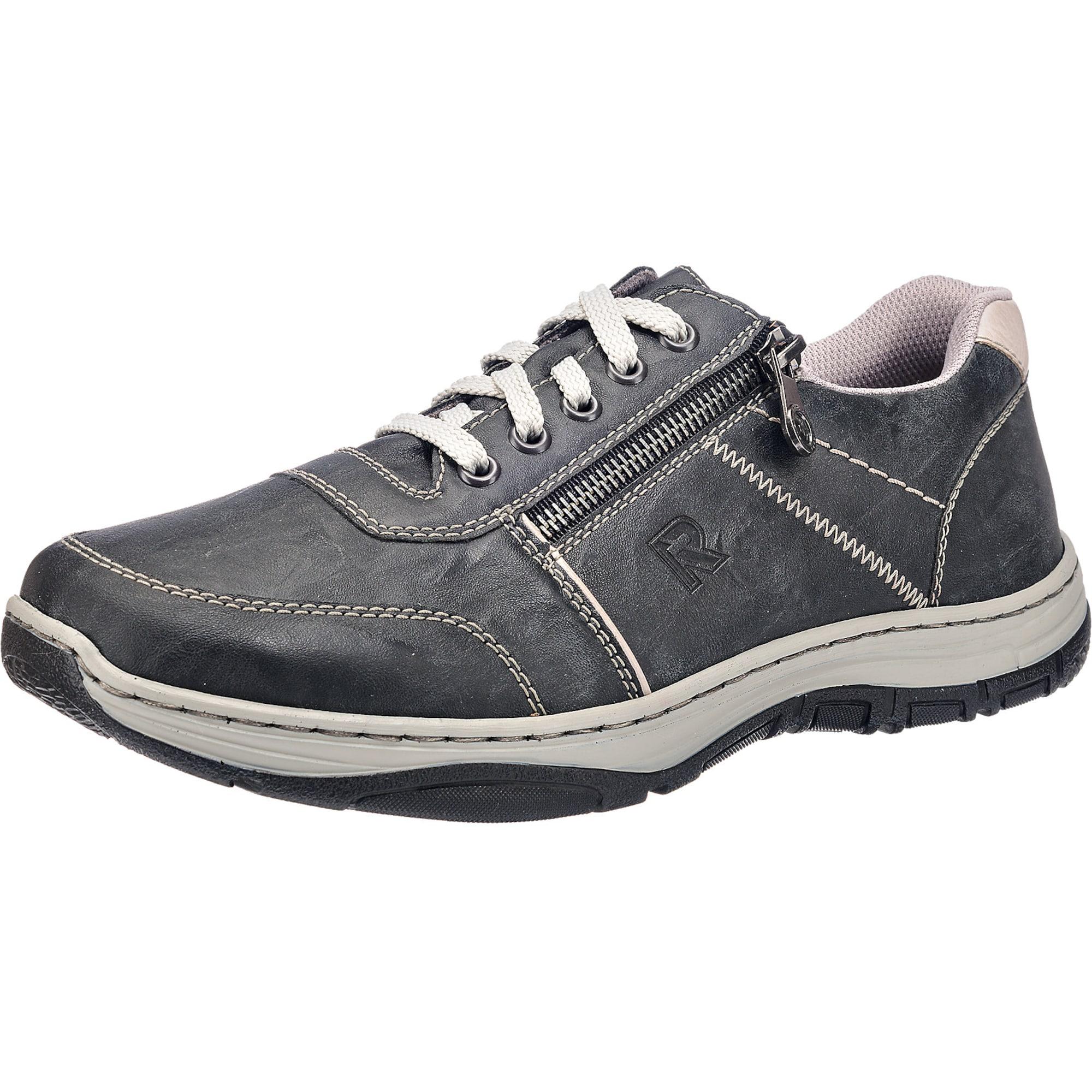 Sportovní šněrovací boty grafitová RIEKER