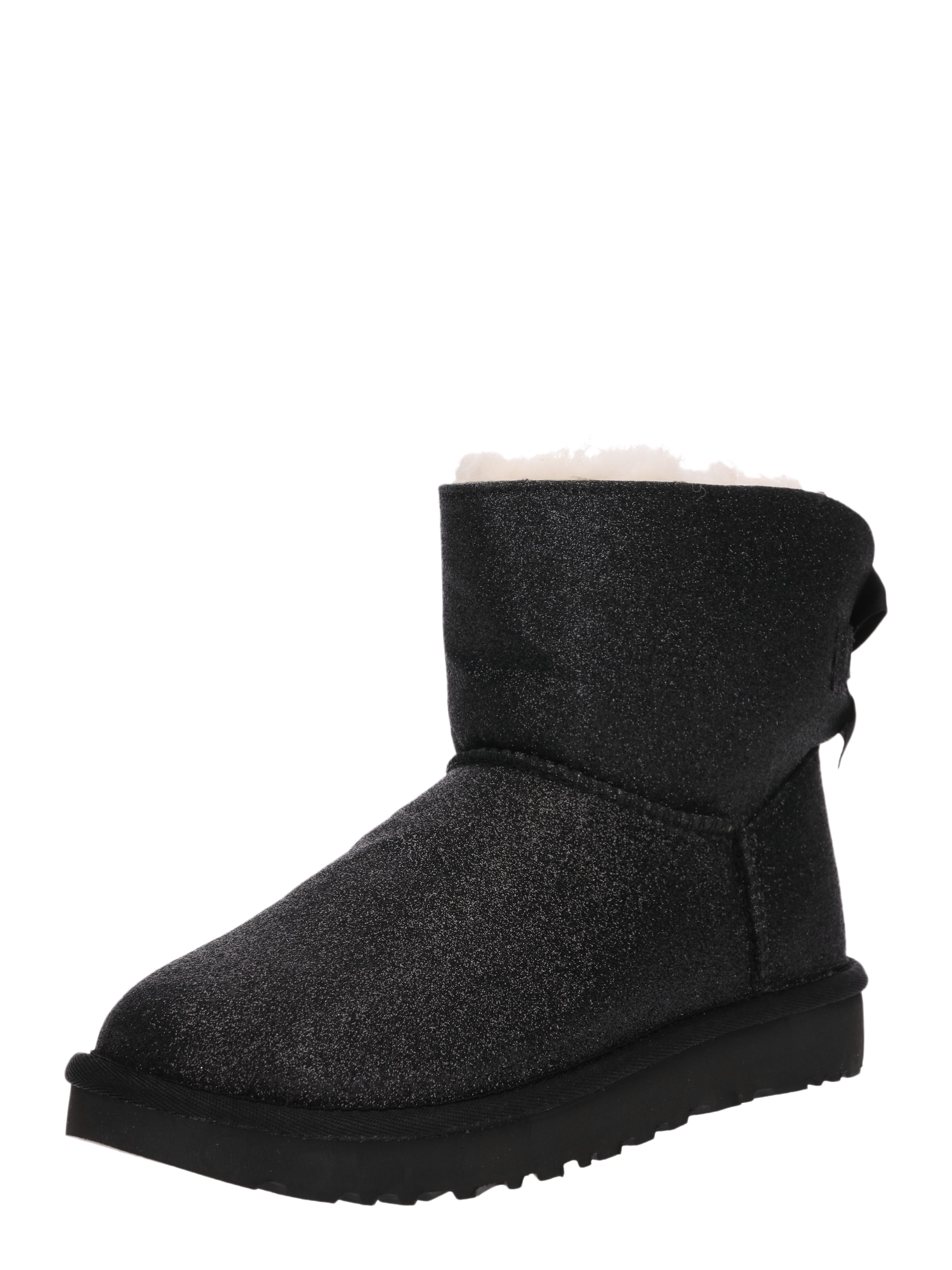 Sněhule Mini Bailey Bow Sparkle schwarz UGG