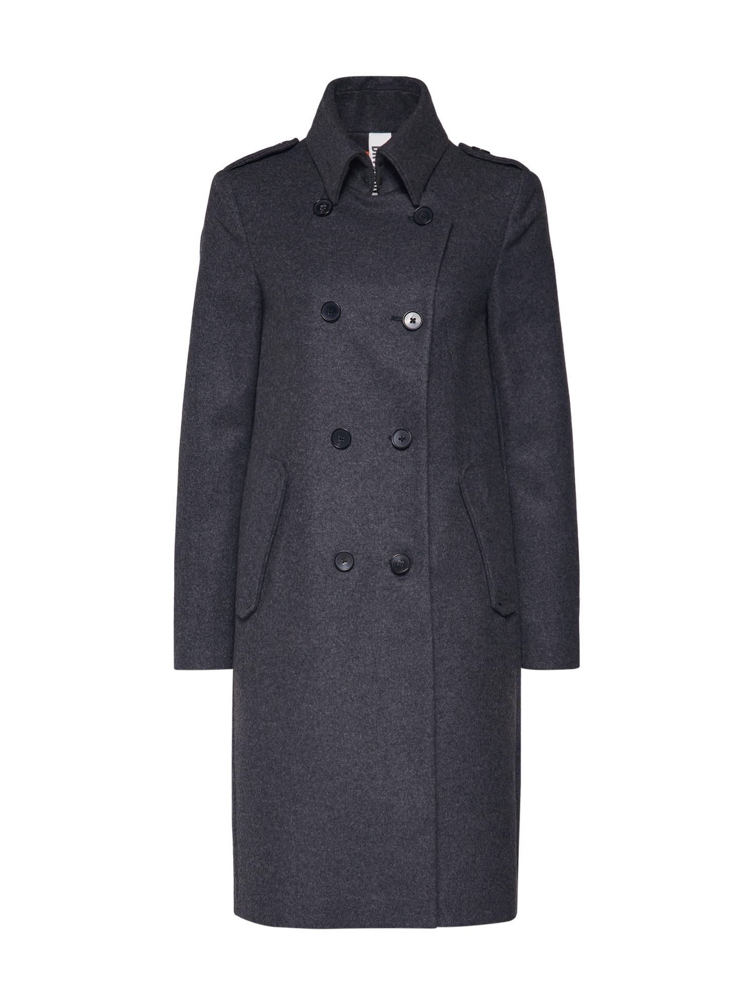 Zimní kabát BUCKEY šedá DRYKORN