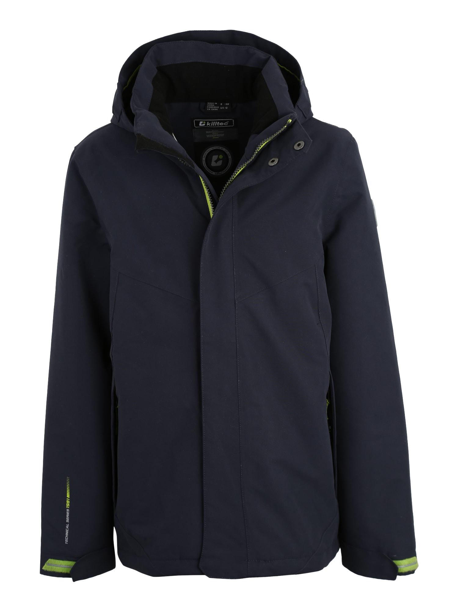 Outdoorová bunda Nairo námořnická modř KILLTEC