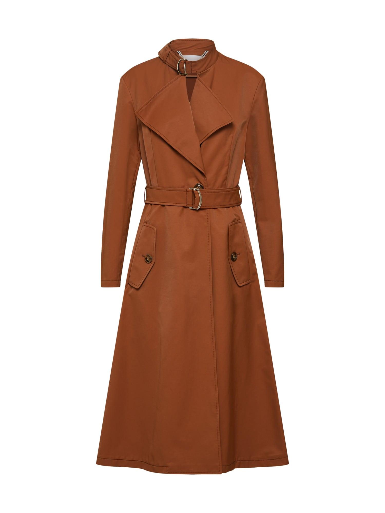 Přechodný kabát CENTURIA hnědá MAX&Co.