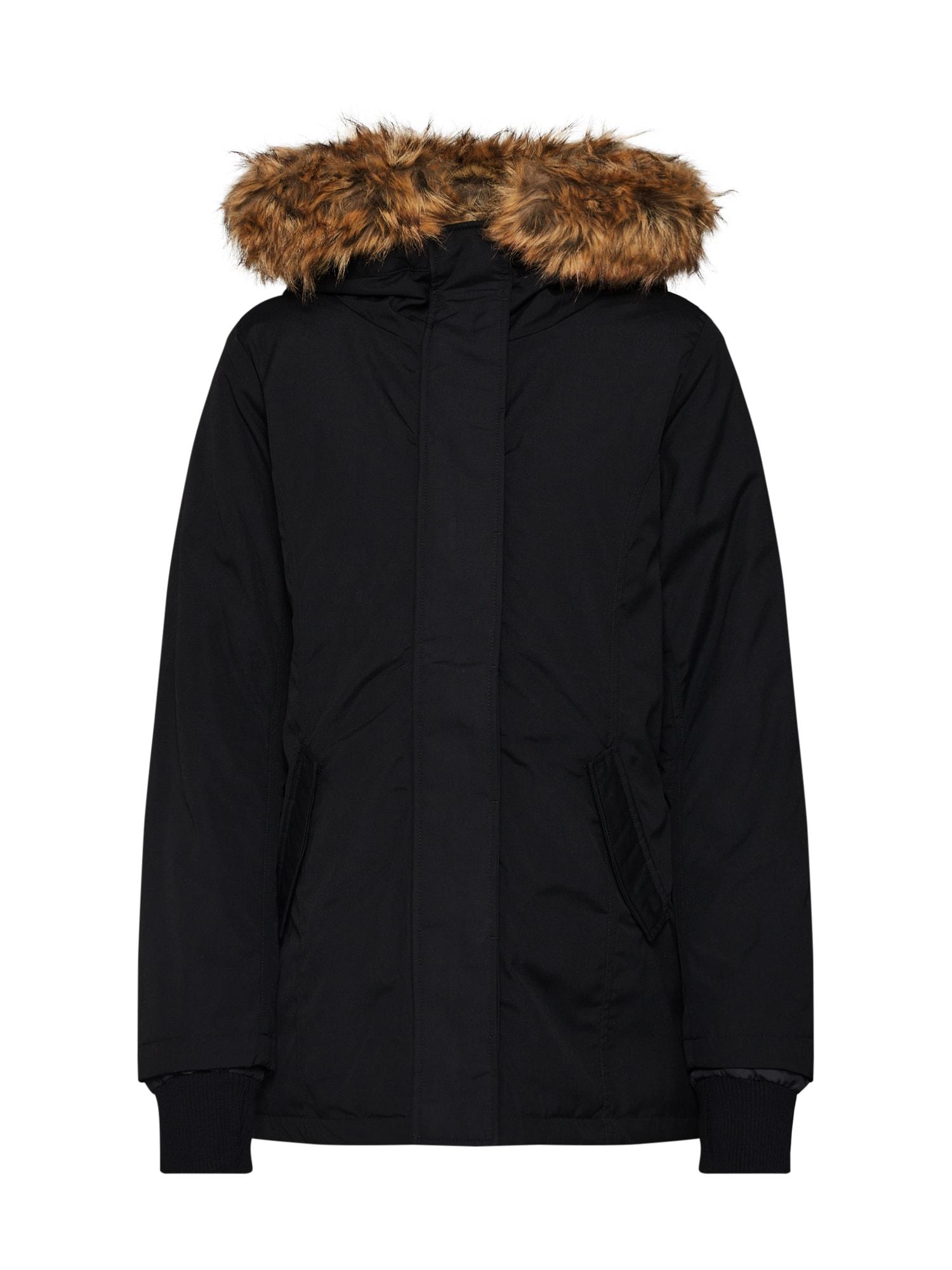 Zimní bunda černá Sublevel