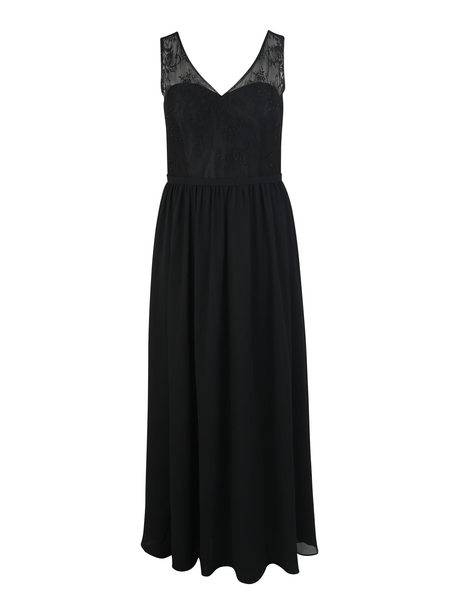 Společenské šaty CLASSIC LACE černá My Mascara Curves