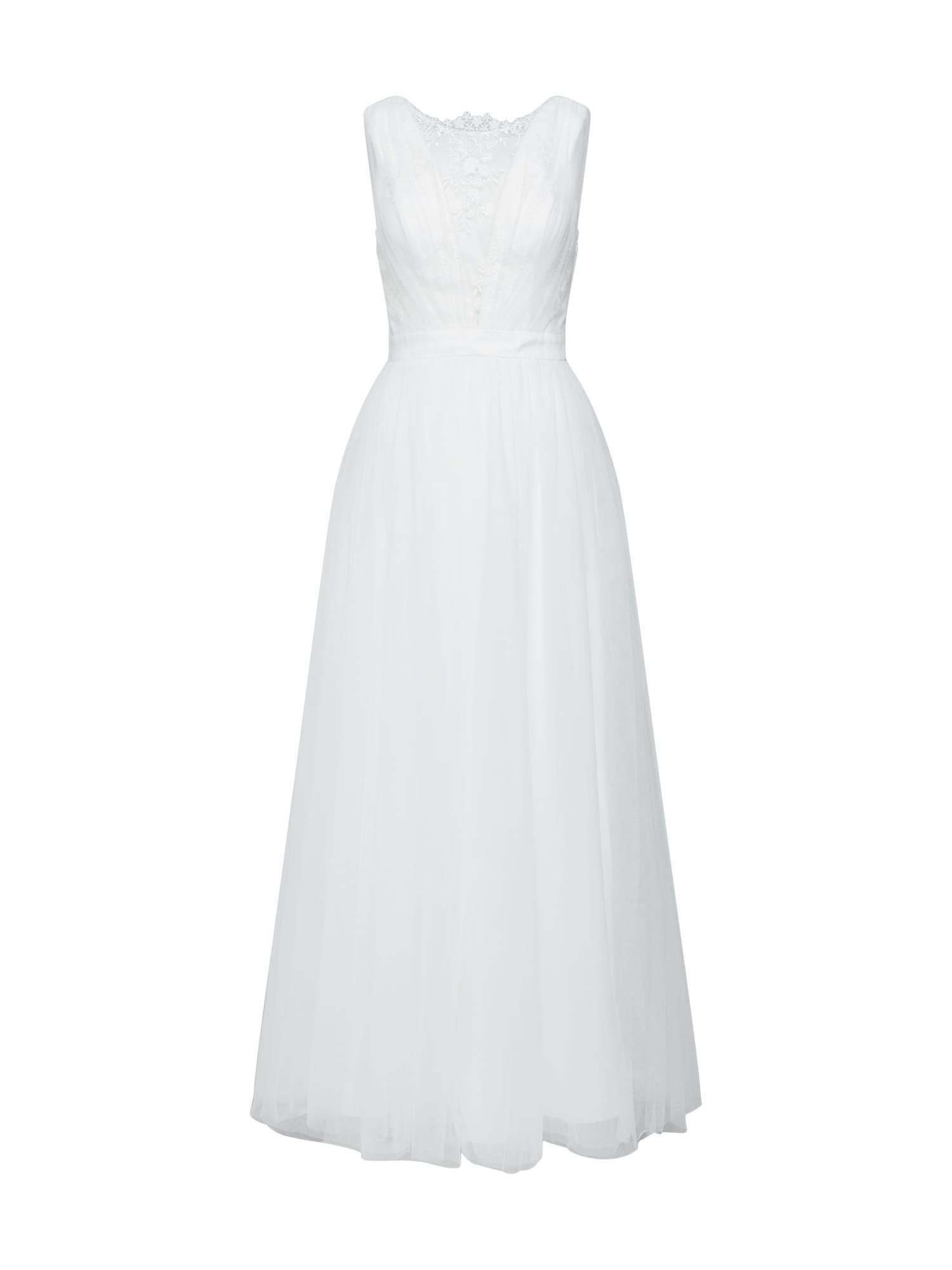 Společenské šaty HOCHZEITSKLEID AMELIE bílá Chi Chi London