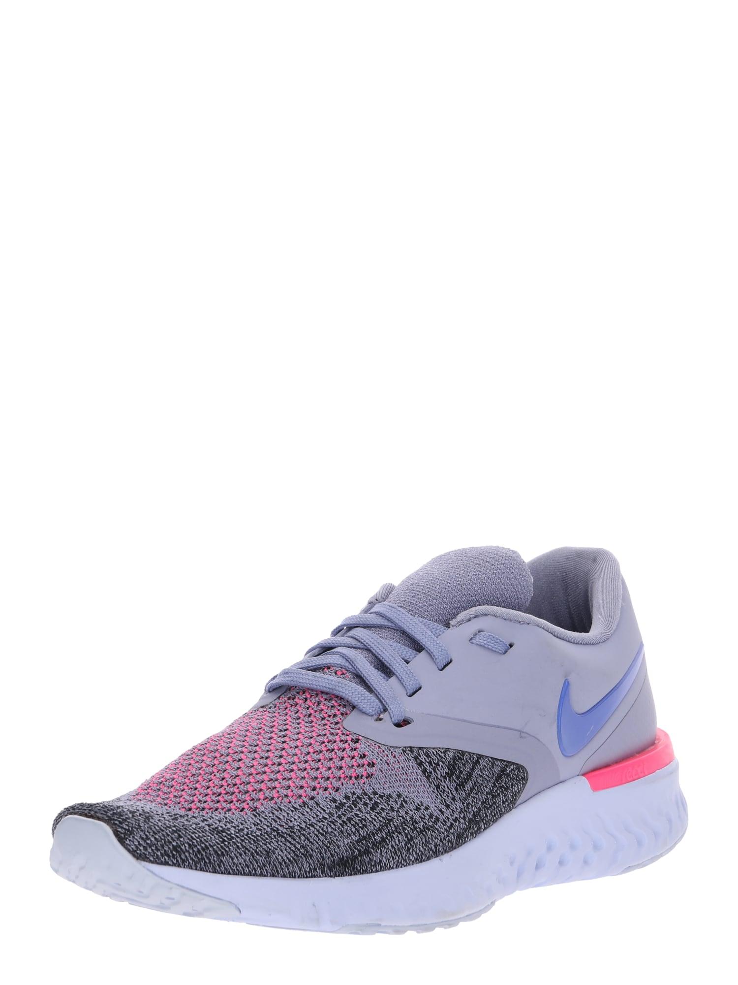 Běžecká obuv Odyssey React Flyknit 2 šedá růžová černá NIKE