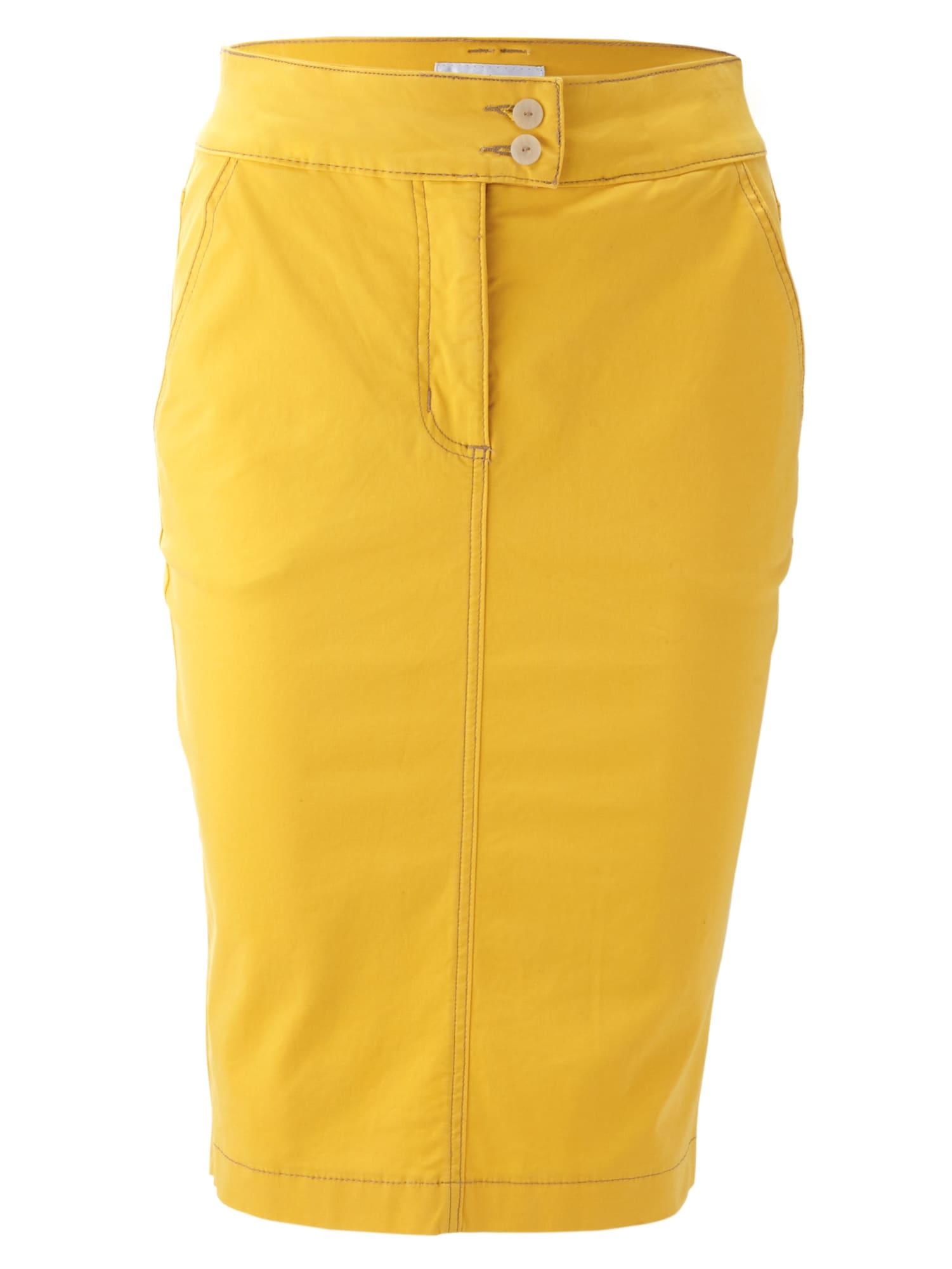 Sukně žlutá Heine