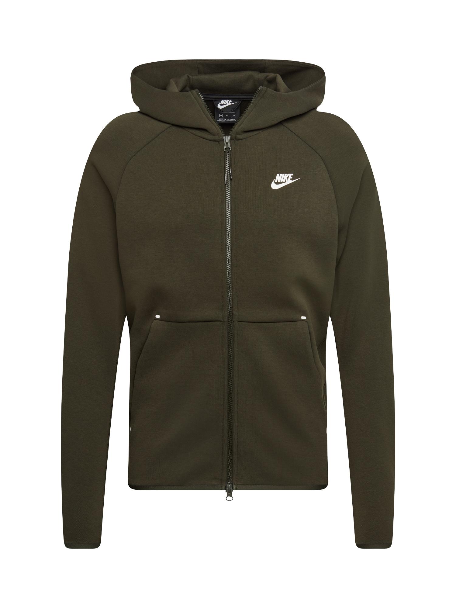 Mikina s kapucí tmavě šedá Nike Sportswear
