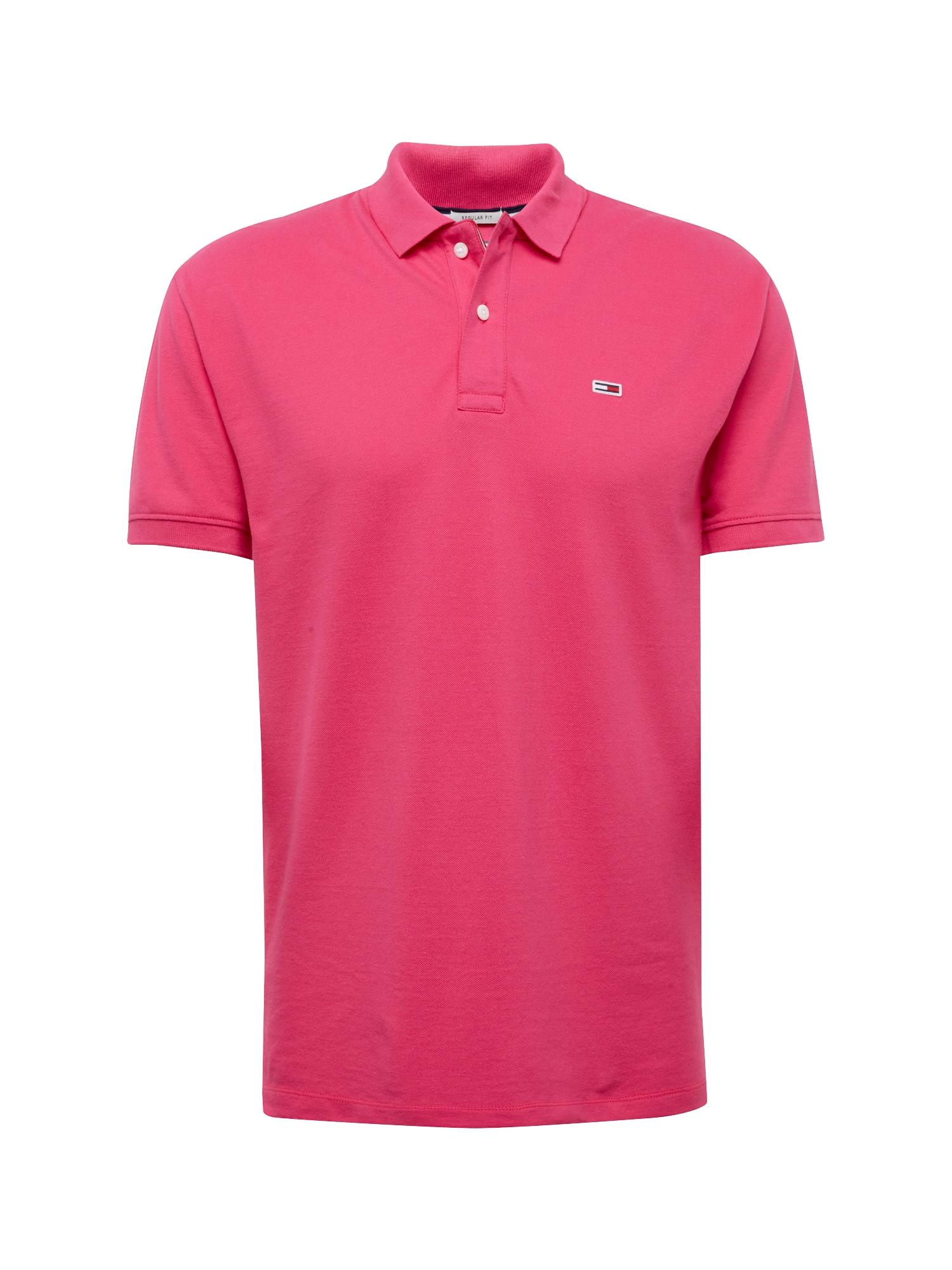 Tričko tmavě růžová Tommy Jeans