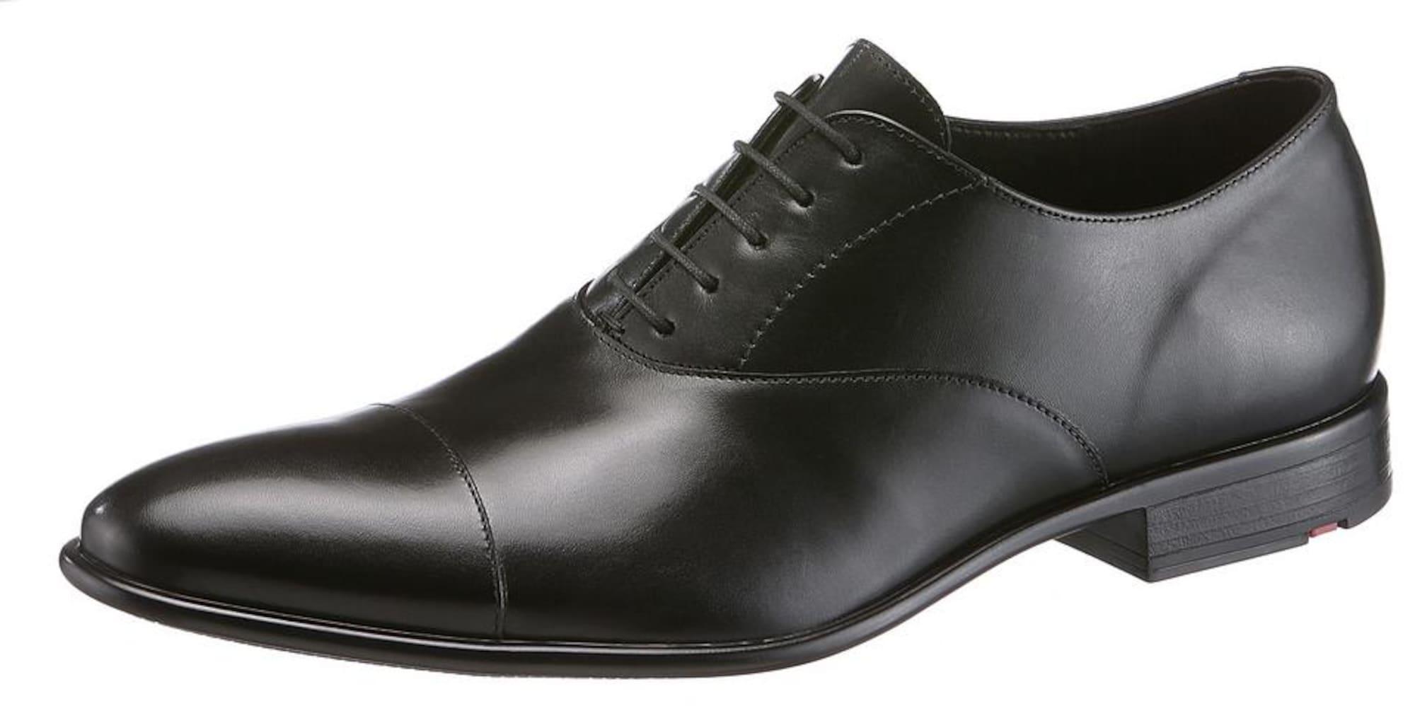 Šněrovací boty černá LLOYD