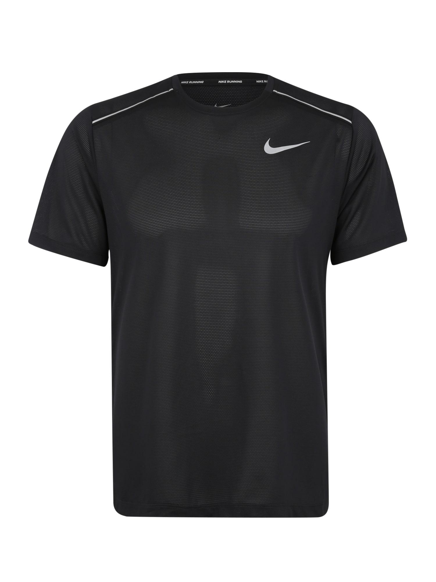 Funkční tričko Dri-FIT Cool Miler černá bílá NIKE