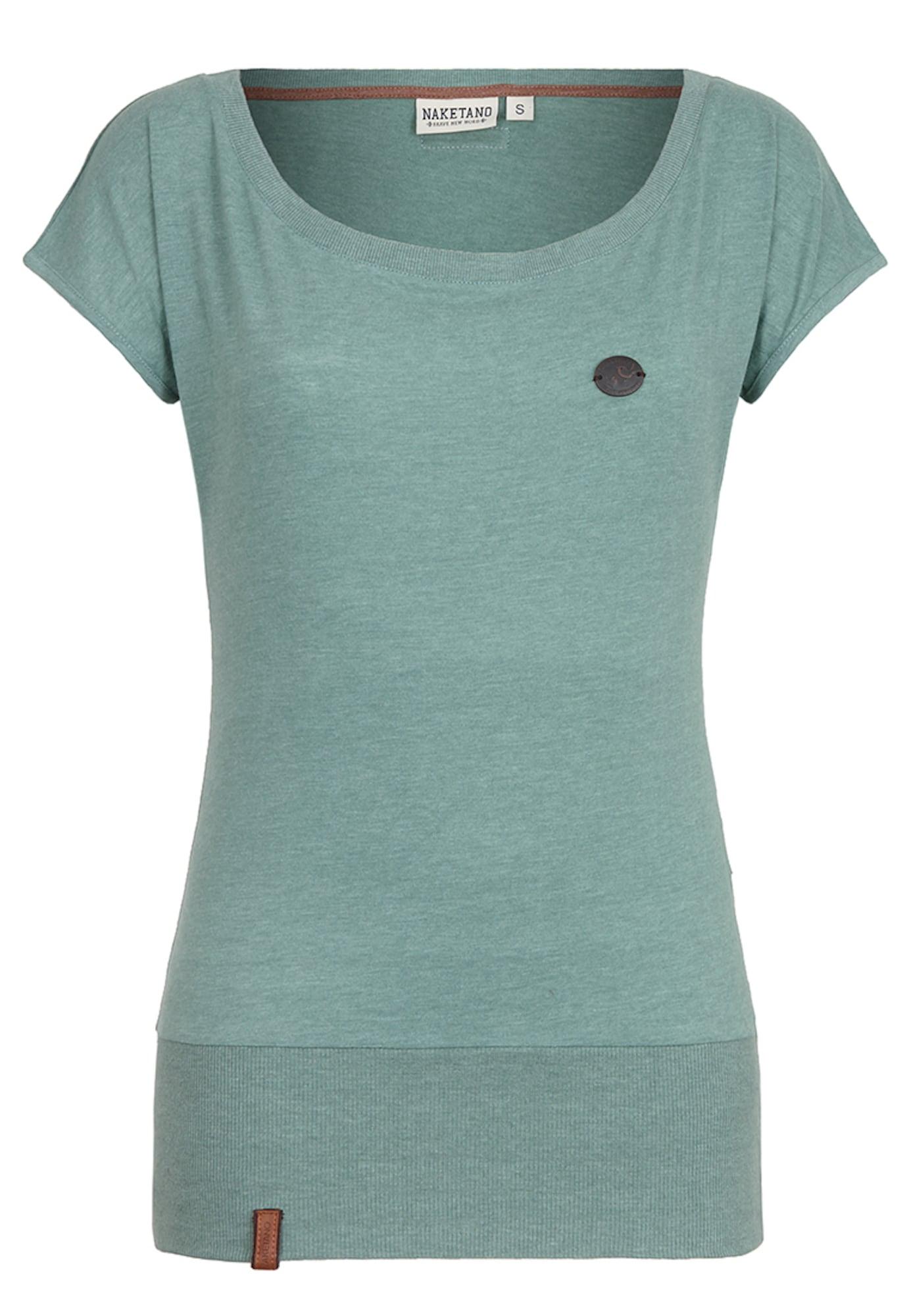 Naketano, Dames Shirt 'Wolle IX', pastelblauw