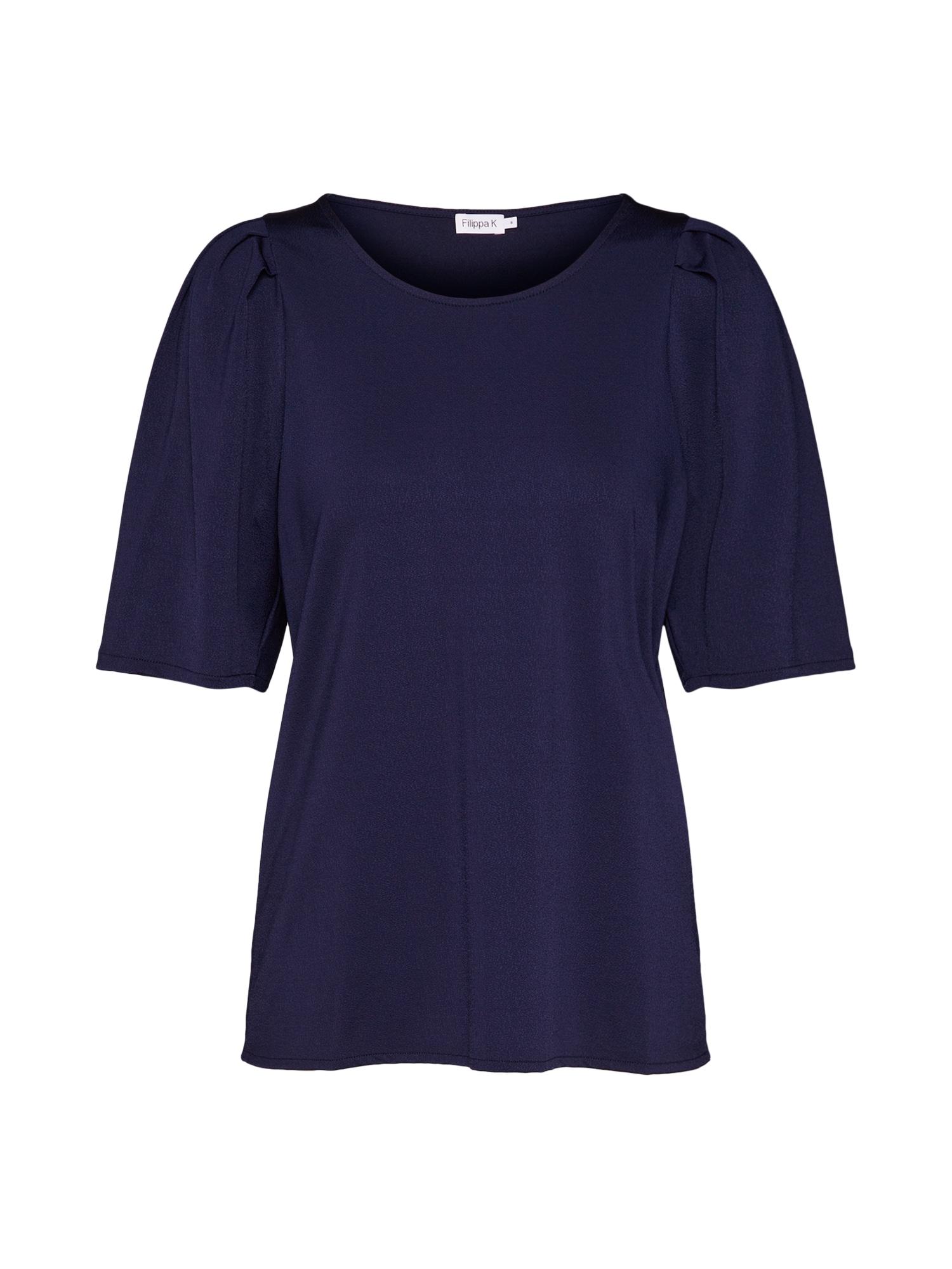 Tričko Pleat Top námořnická modř Filippa K