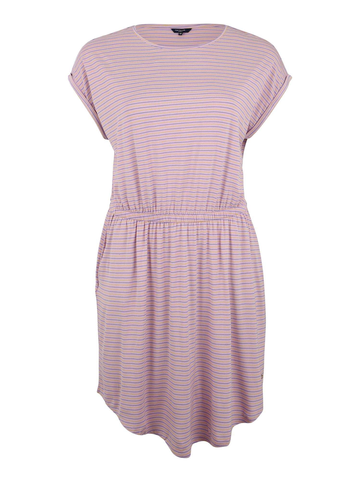 Šaty fialkově modrá růžová TOM TAILOR