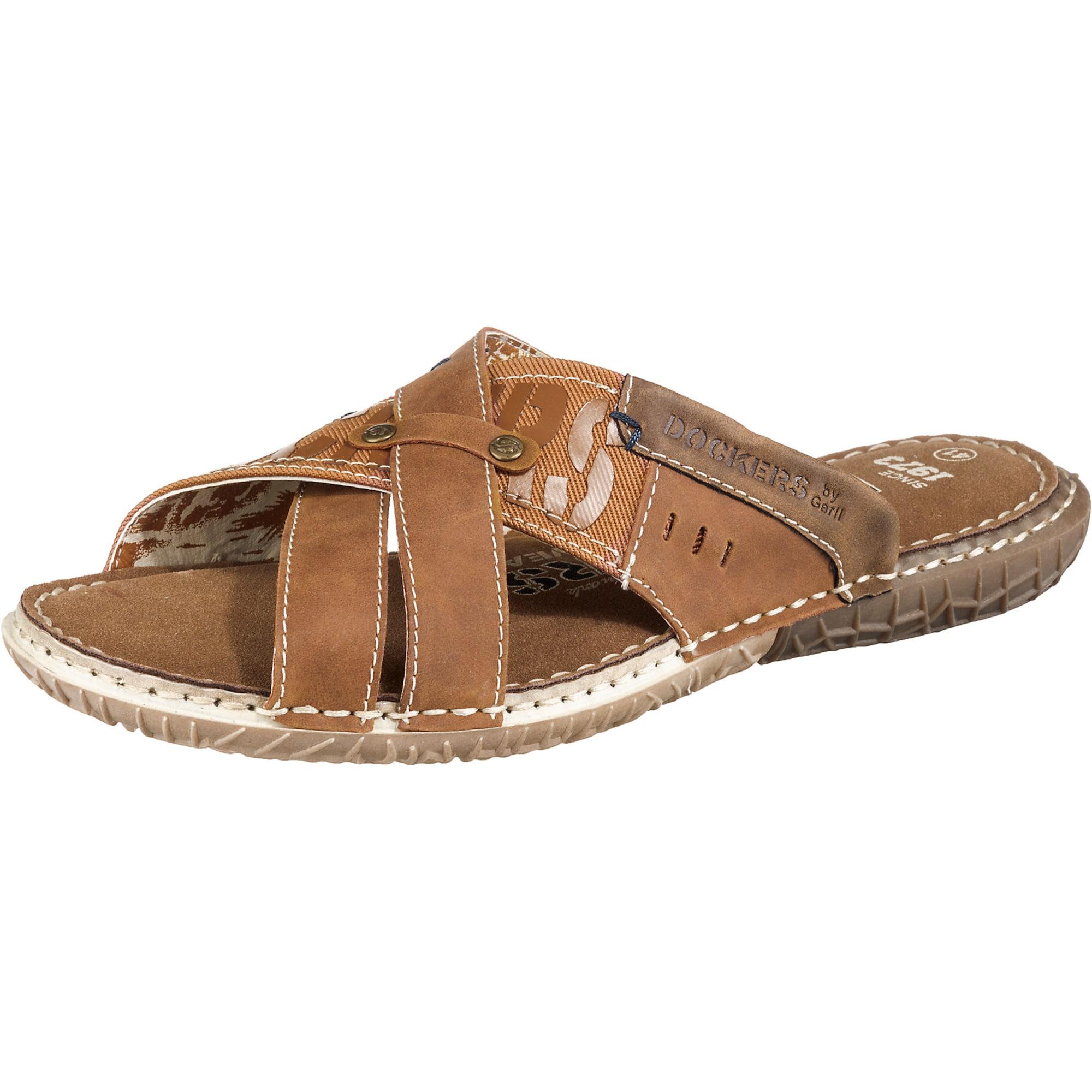 Pantoletten | Schuhe > Clogs & Pantoletten | Braun | Dockers By Gerli
