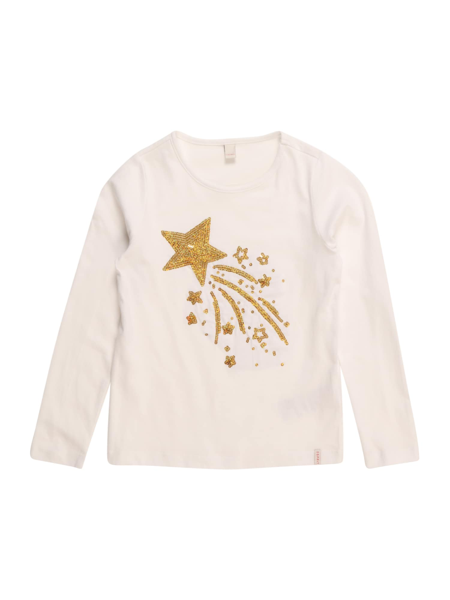 Tričko TEE-SHIRT bílá ESPRIT
