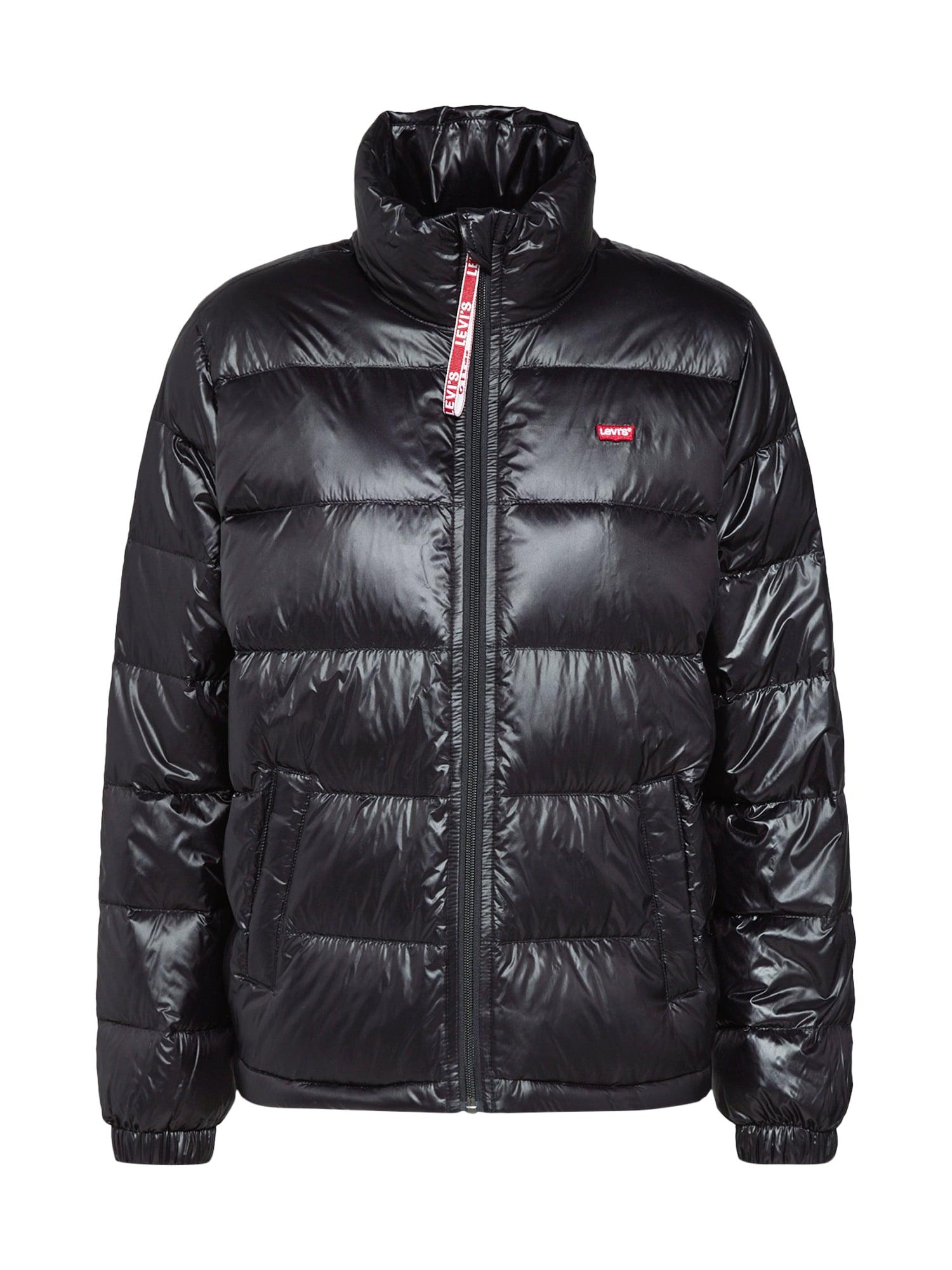 LEVIS Zimní bunda FRANCINE černá LEVI'S