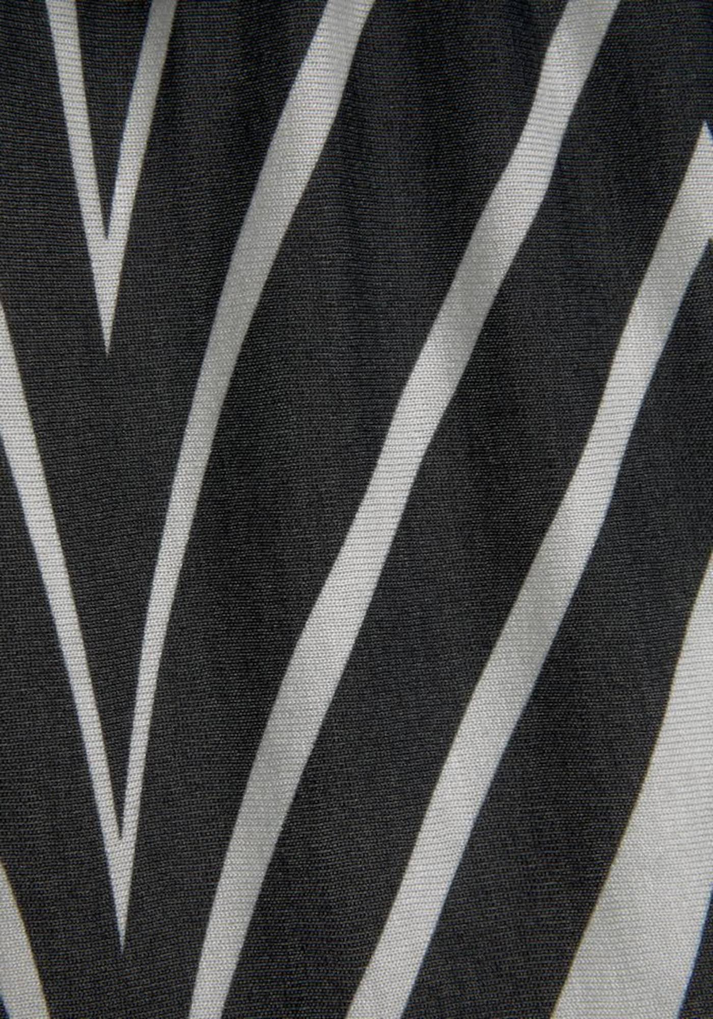 LASCANA Plážové šaty  černá / bílá