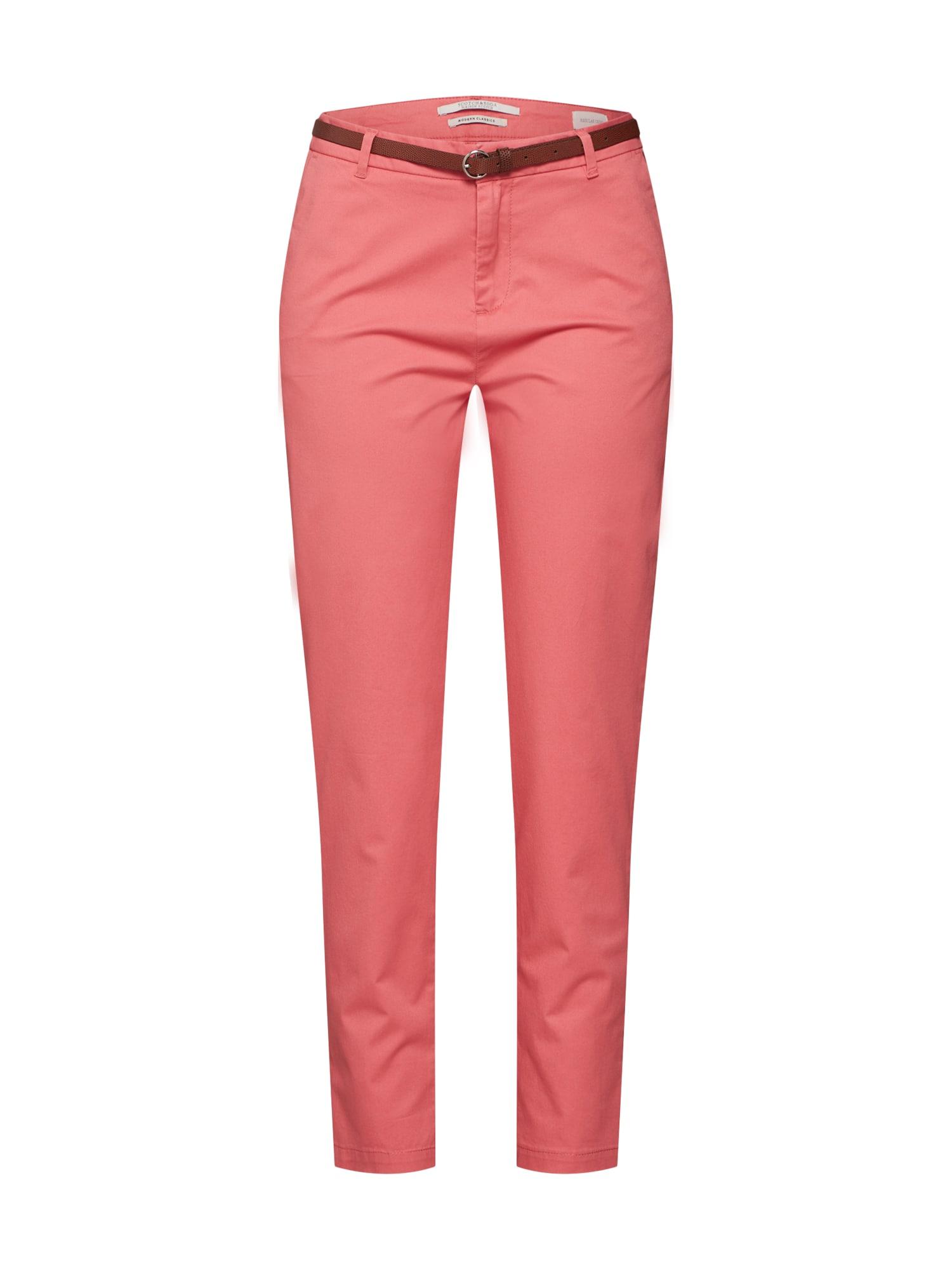 Chino kalhoty pink SCOTCH & SODA