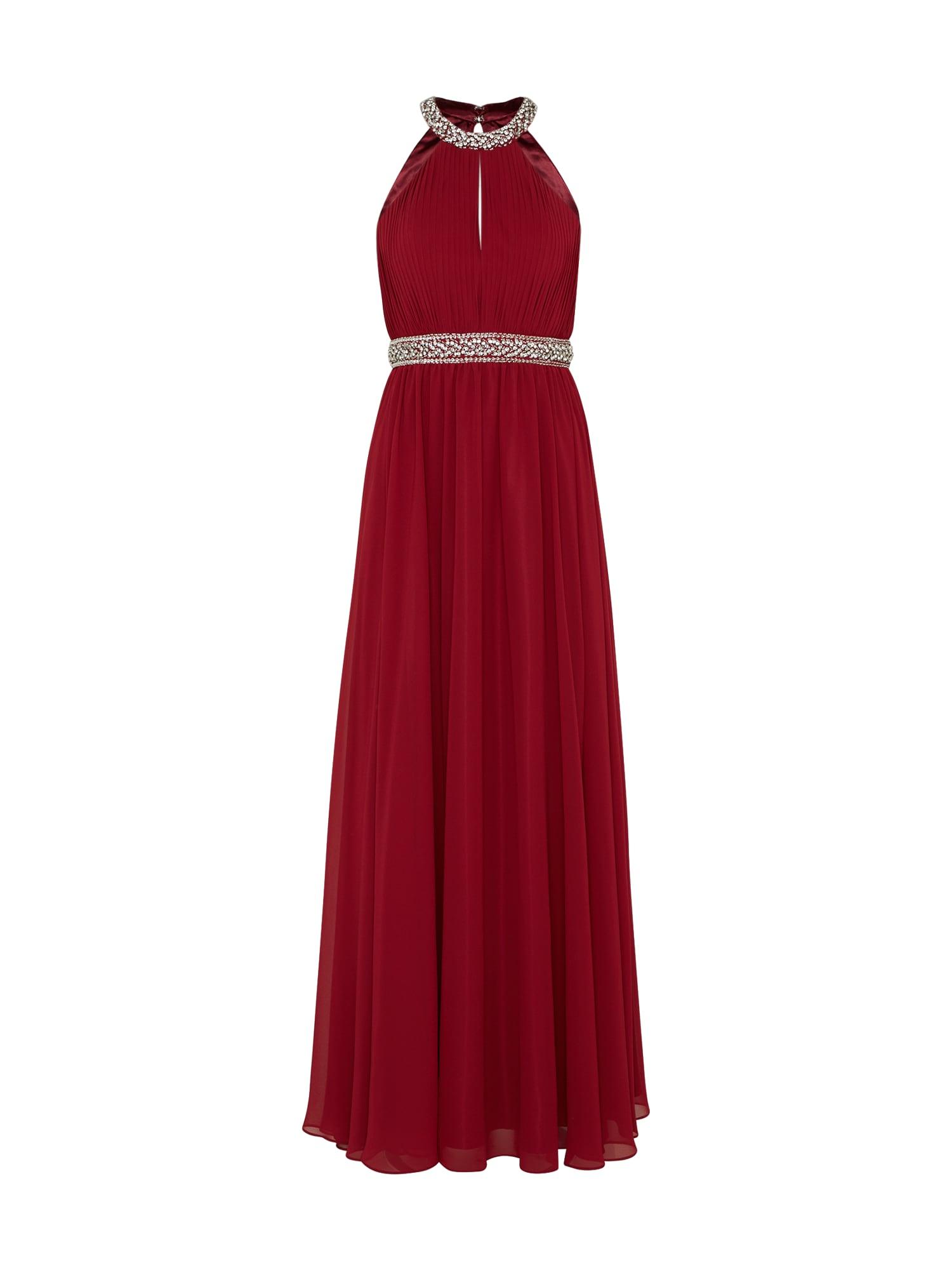 Společenské šaty tmavě červená Mascara