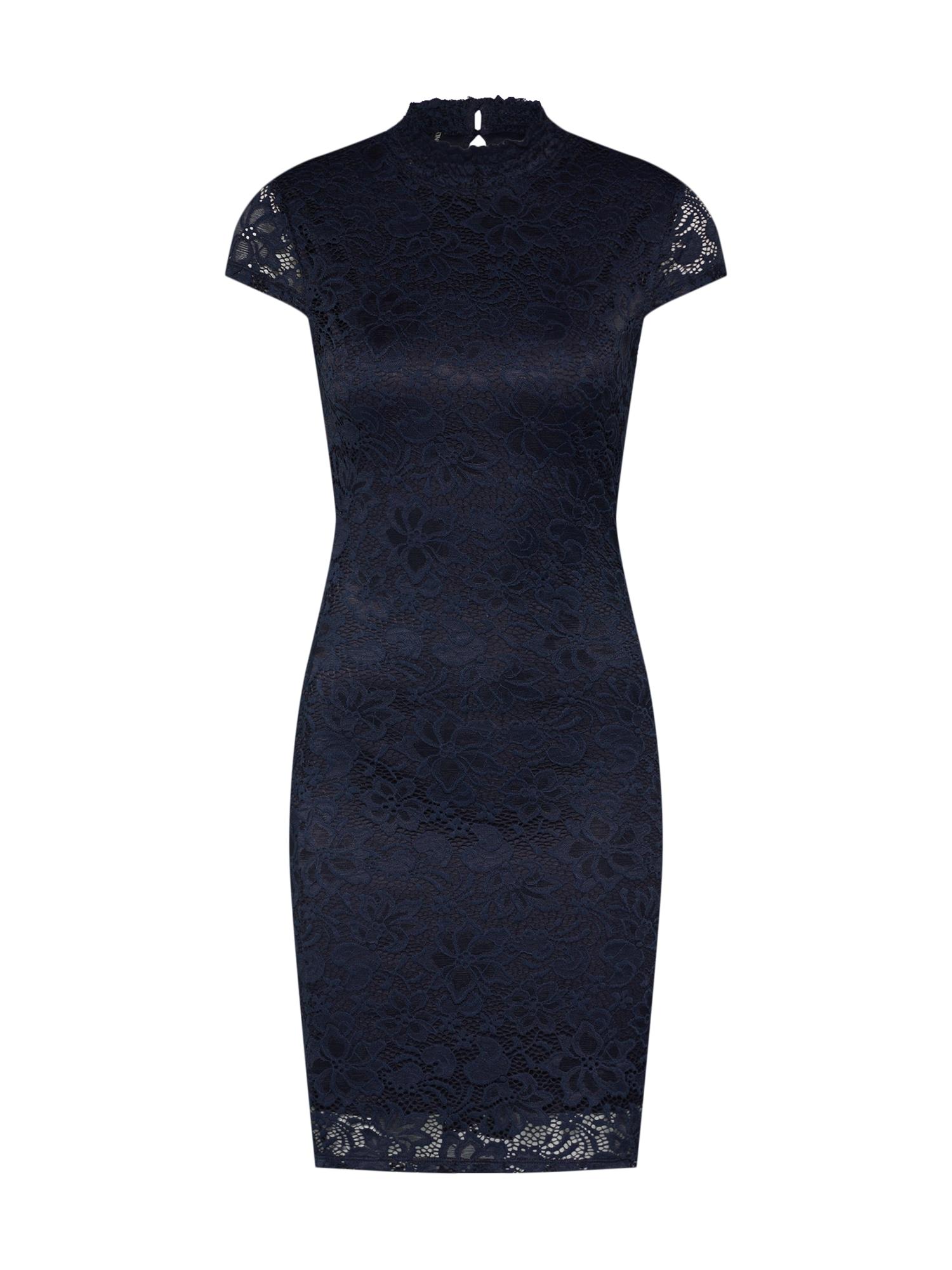 Koktejlové šaty Alba noční modrá ONLY