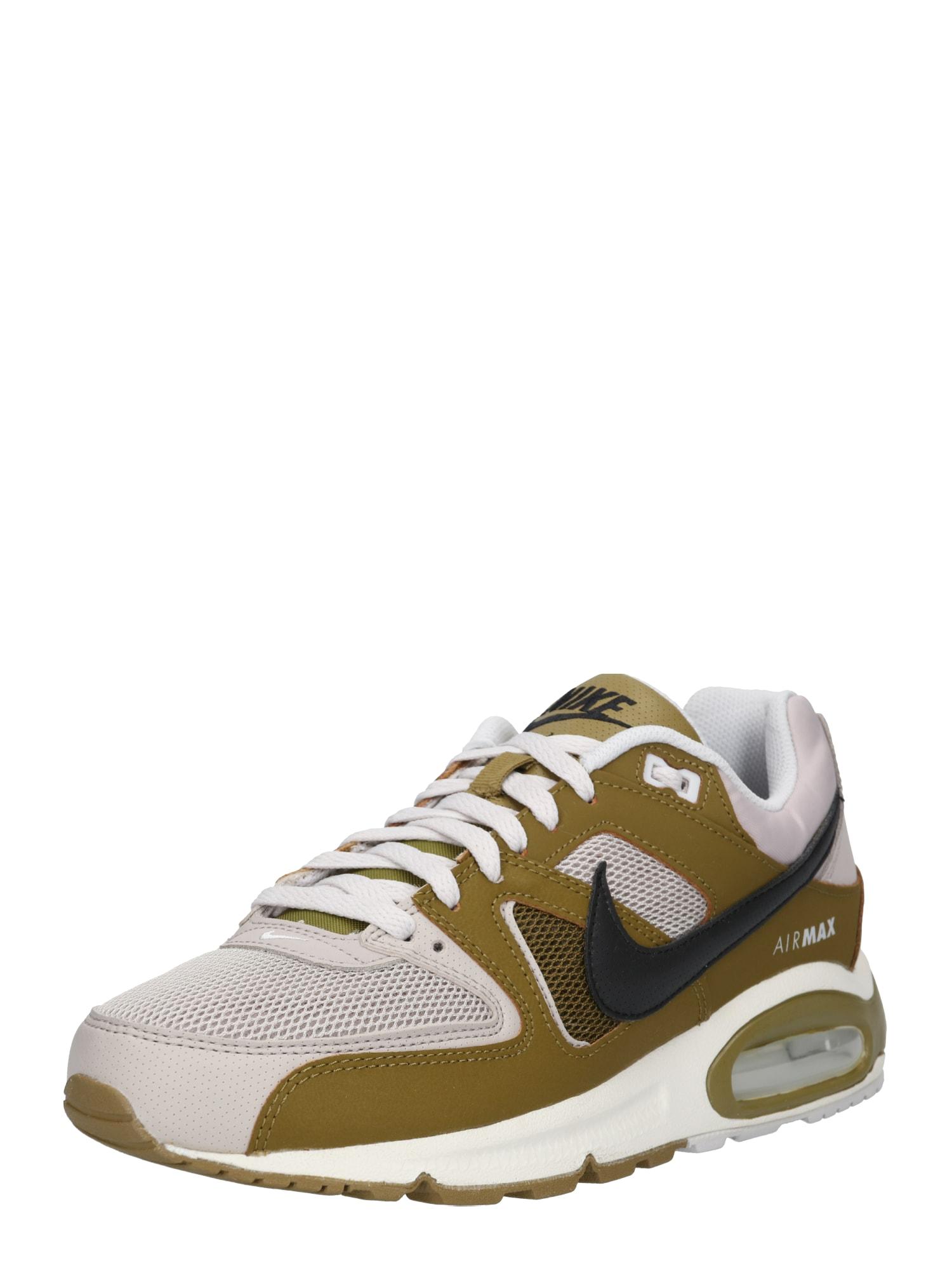 Tenisky Air Max Command světle šedá olivová Nike Sportswear