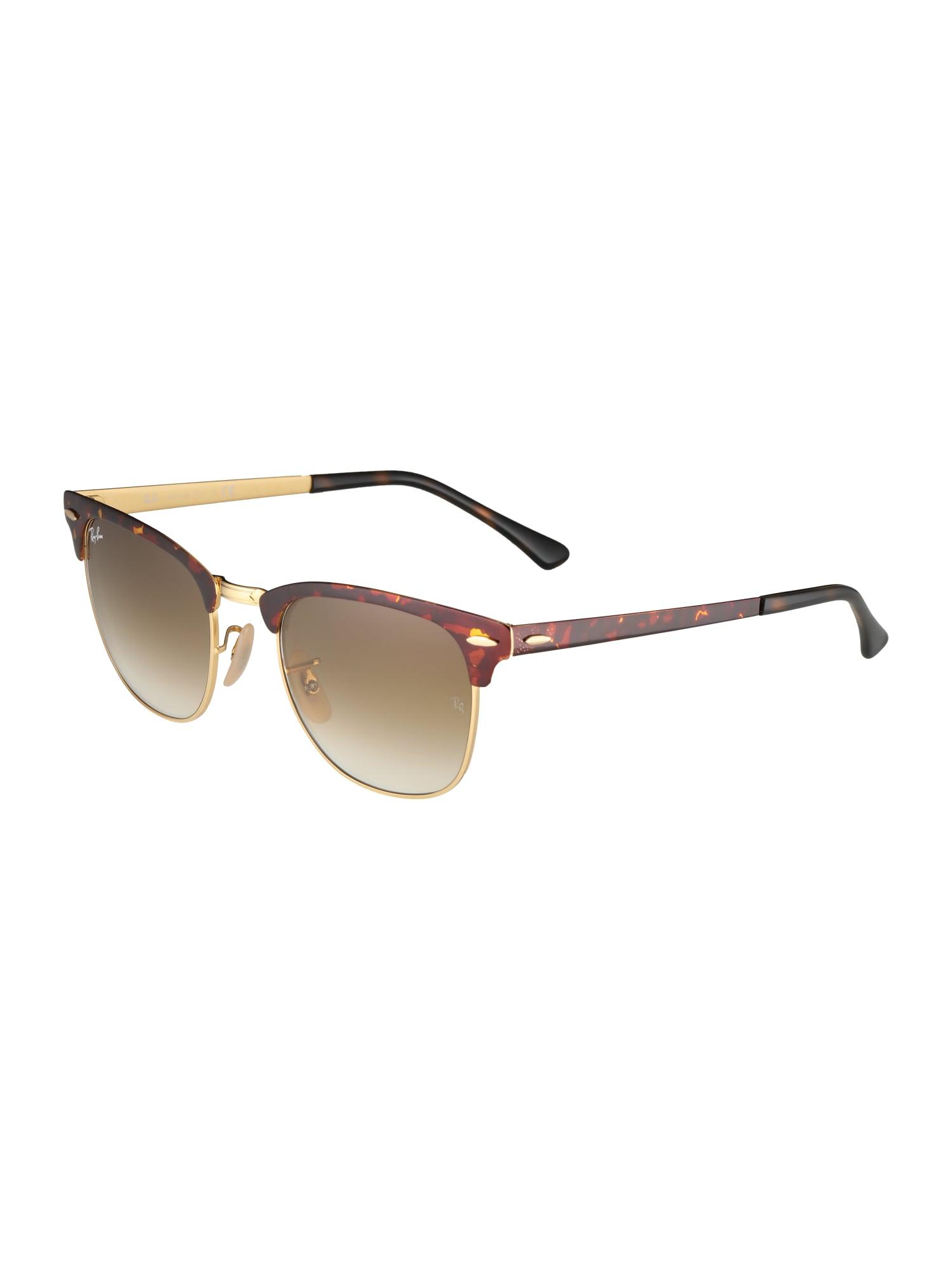 Sluneční brýle RB3716 hnědá zlatá Ray-Ban