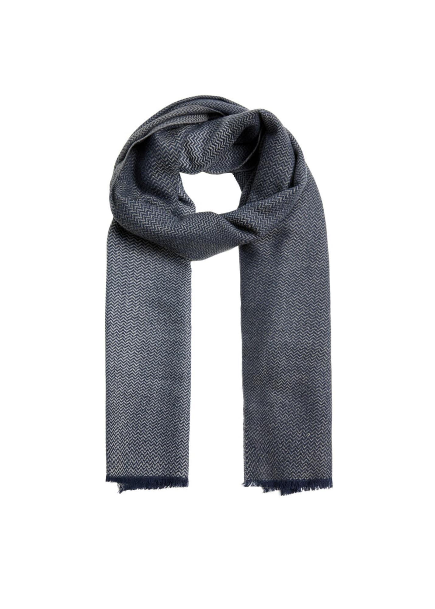 Schal | Accessoires > Schals & Tücher | Blau | mango man