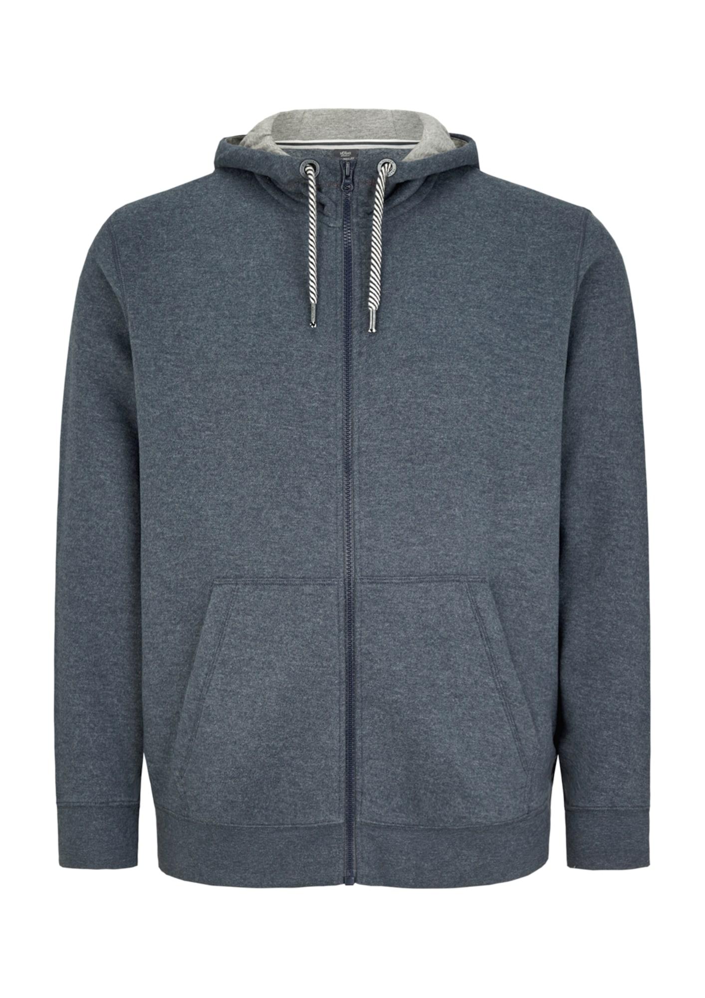 Sweatjacke | Bekleidung > Sweatshirts & -jacken > Sweatjacken | Blau | S.Oliver