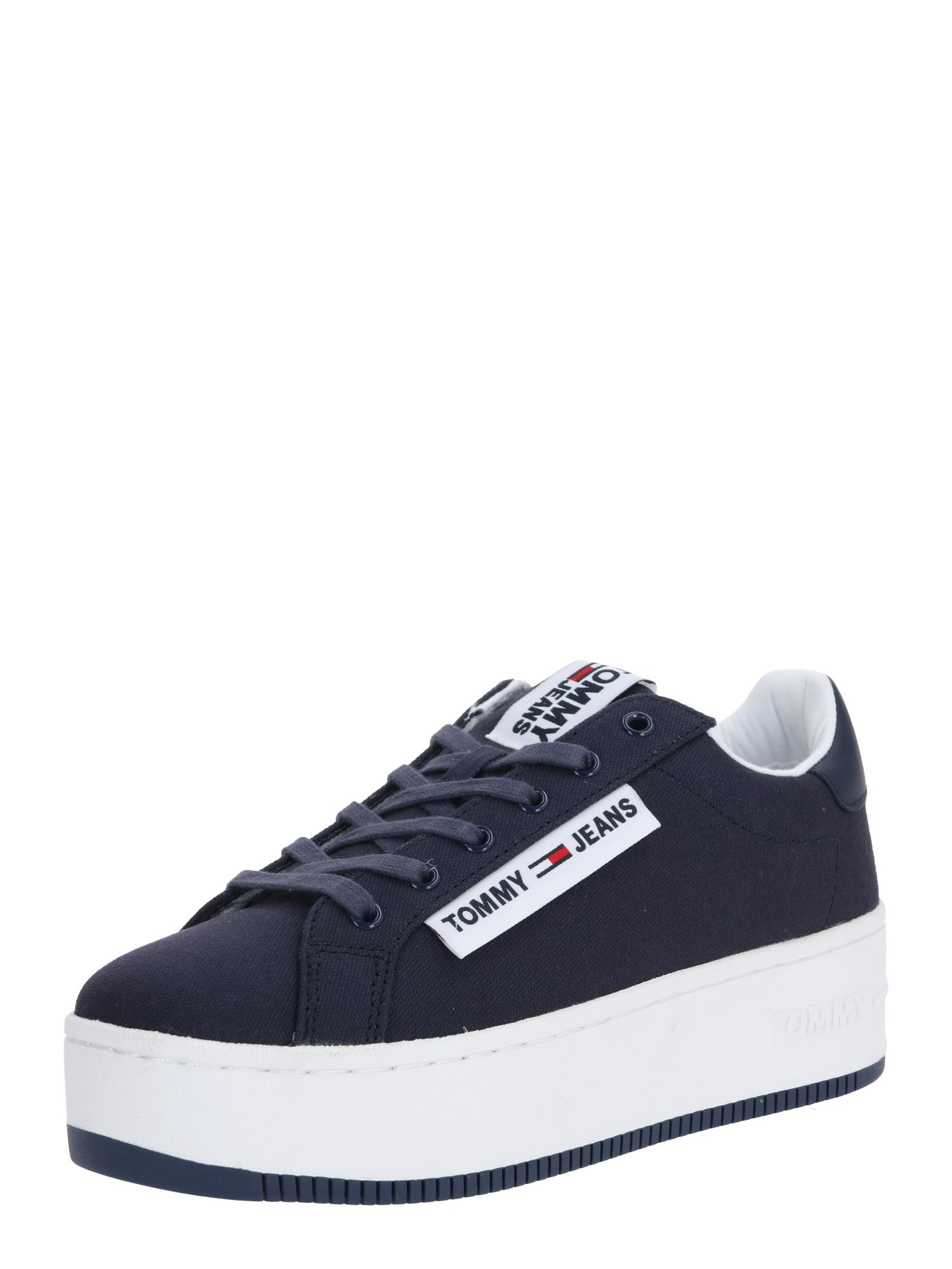 Tommy Jeans Tenisky 'NEW ROXY 2D'  bílá / námořnická modř