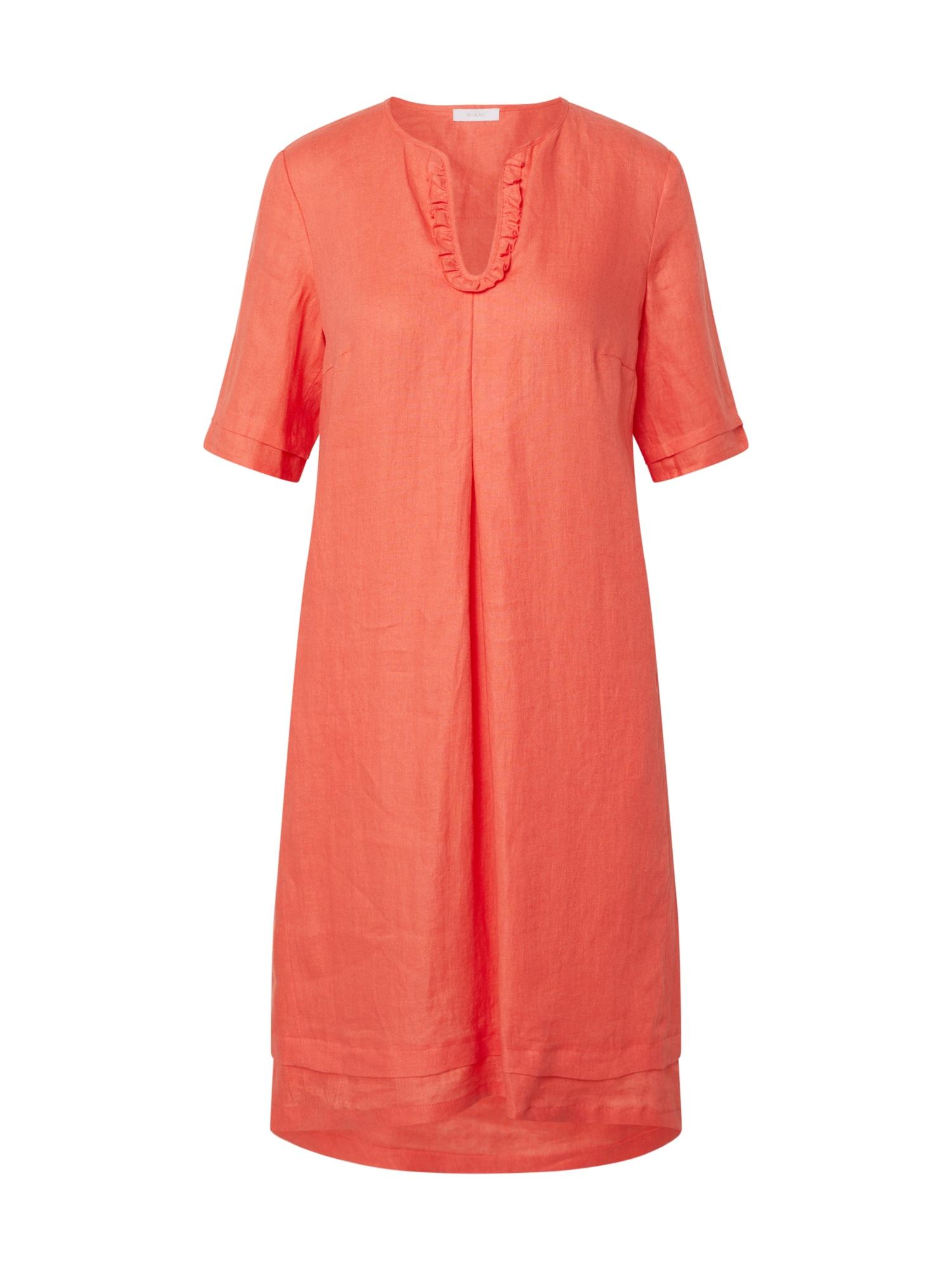 Riani Šaty  oranžovo červená