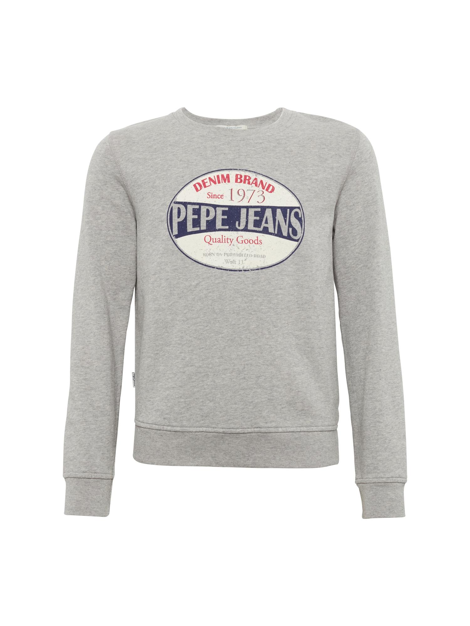 Pepe Jeans Jongens Sweatshirt SIMONE grijs