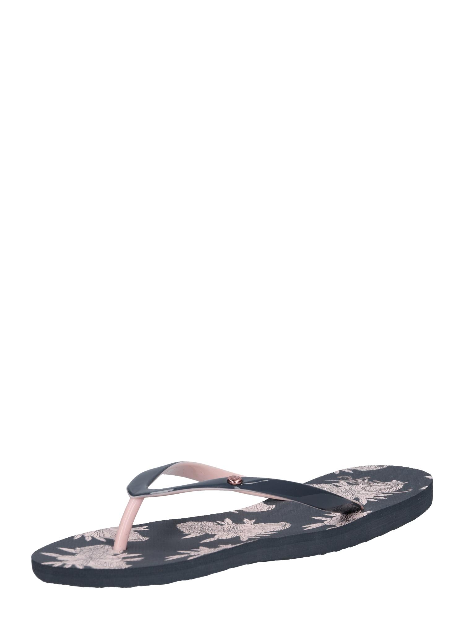 Pantofle PORTOFINO II modrá růžová ROXY