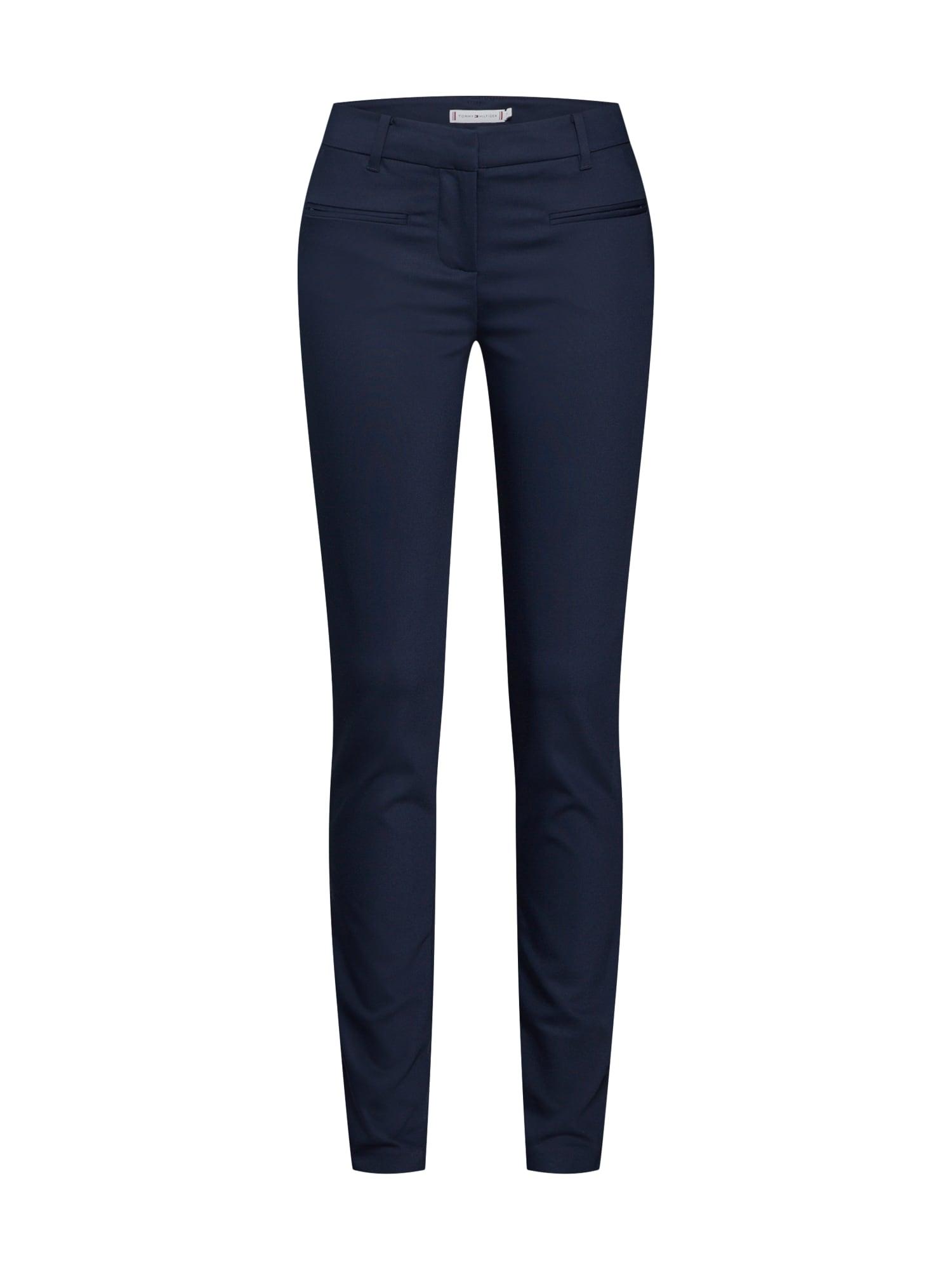 Kalhoty tmavě modrá TOMMY HILFIGER