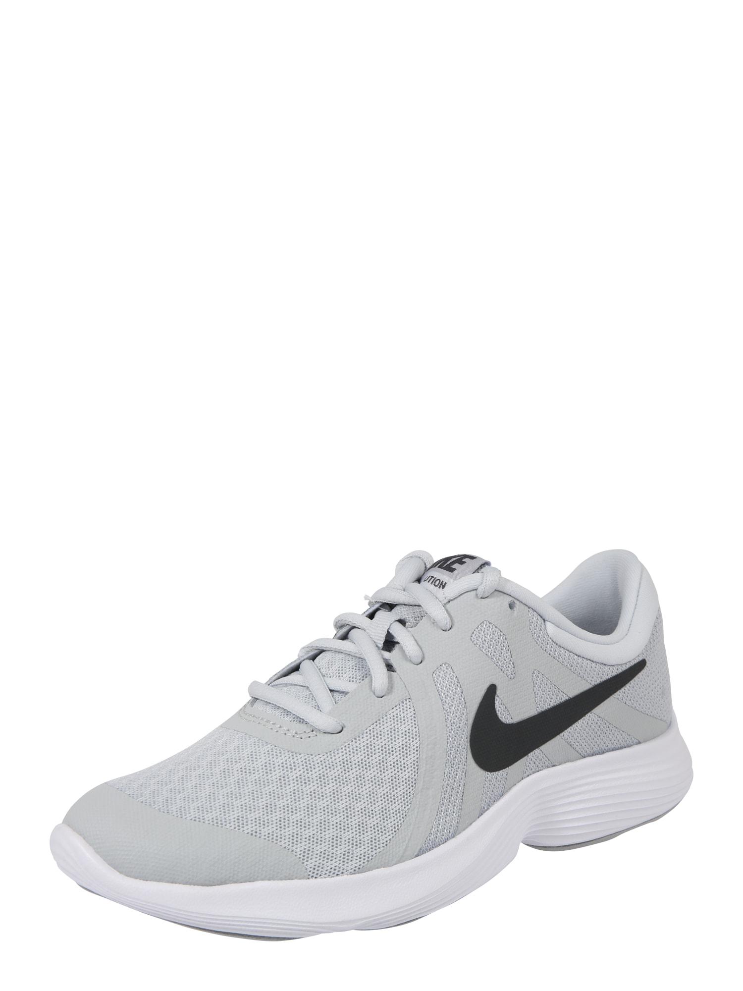 Sportovní boty Revolution 4 (GS) šedá světle šedá NIKE