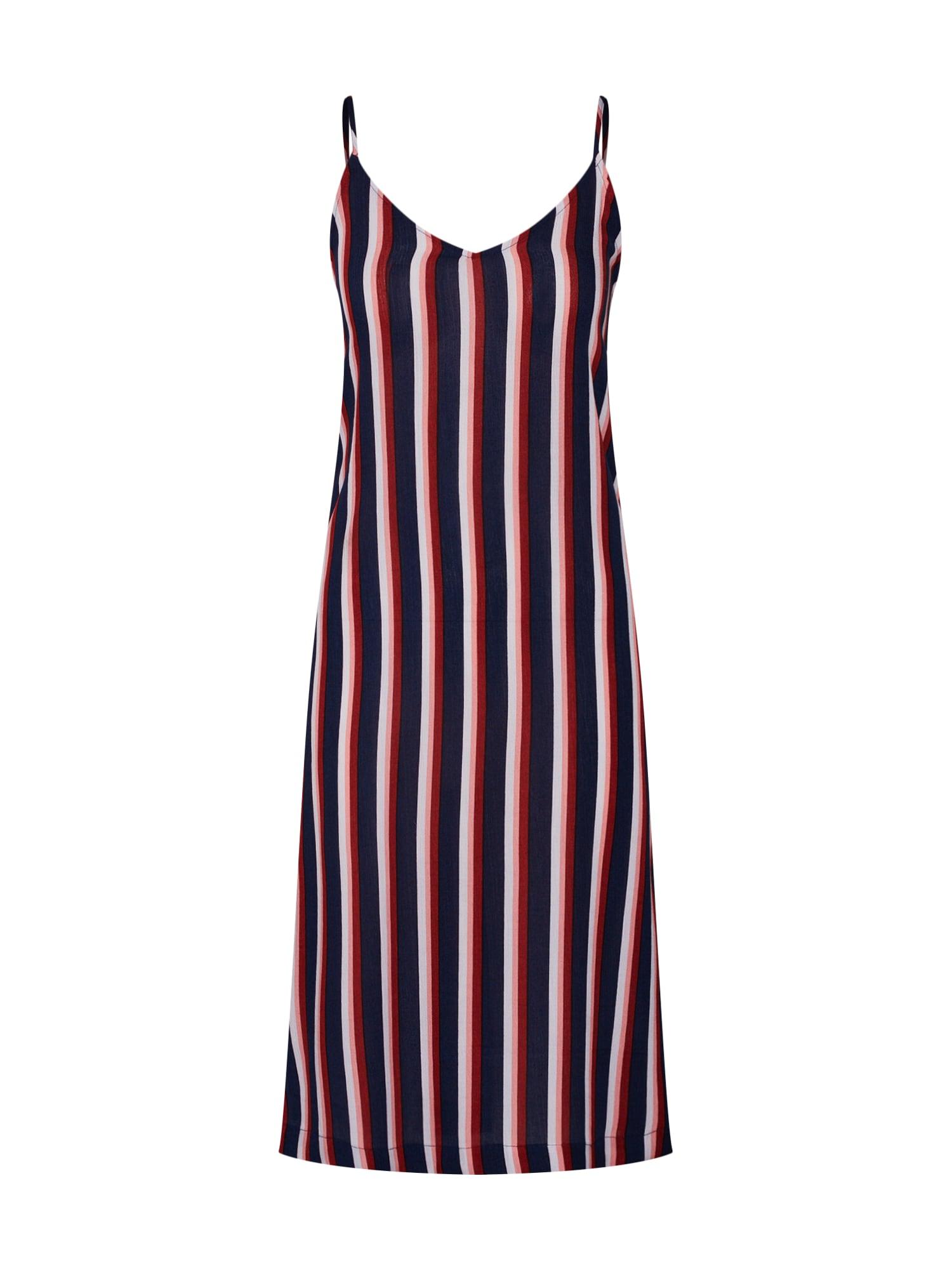 Letní šaty Bobby námořnická modř červená bílá ELEMENT