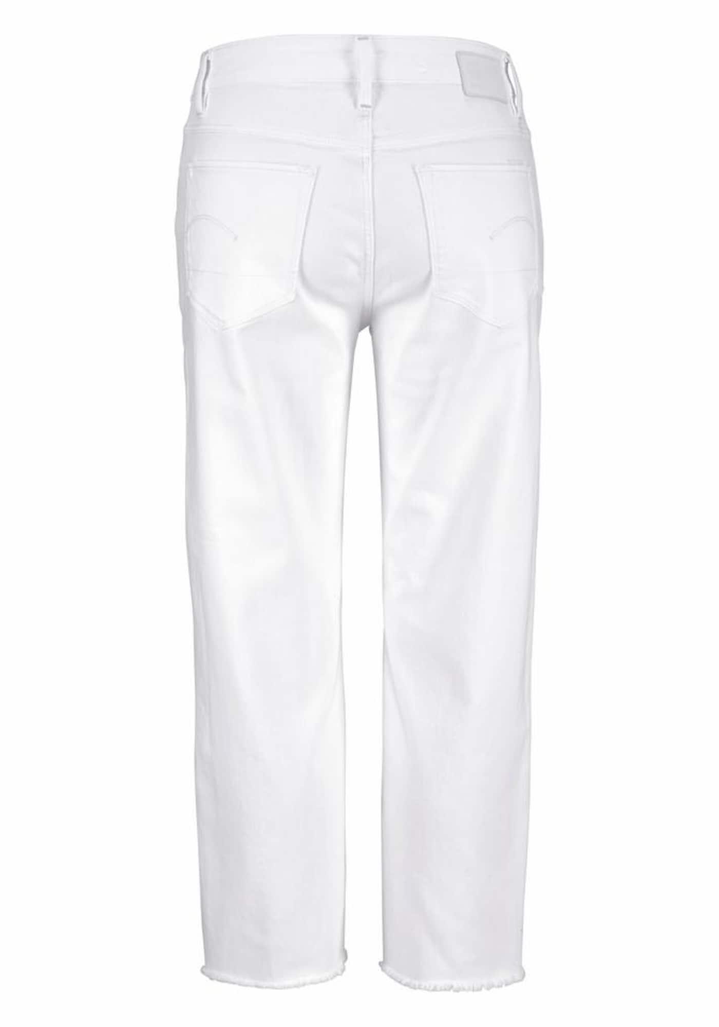 G-STAR RAW Dames Jeans 3301 white denim