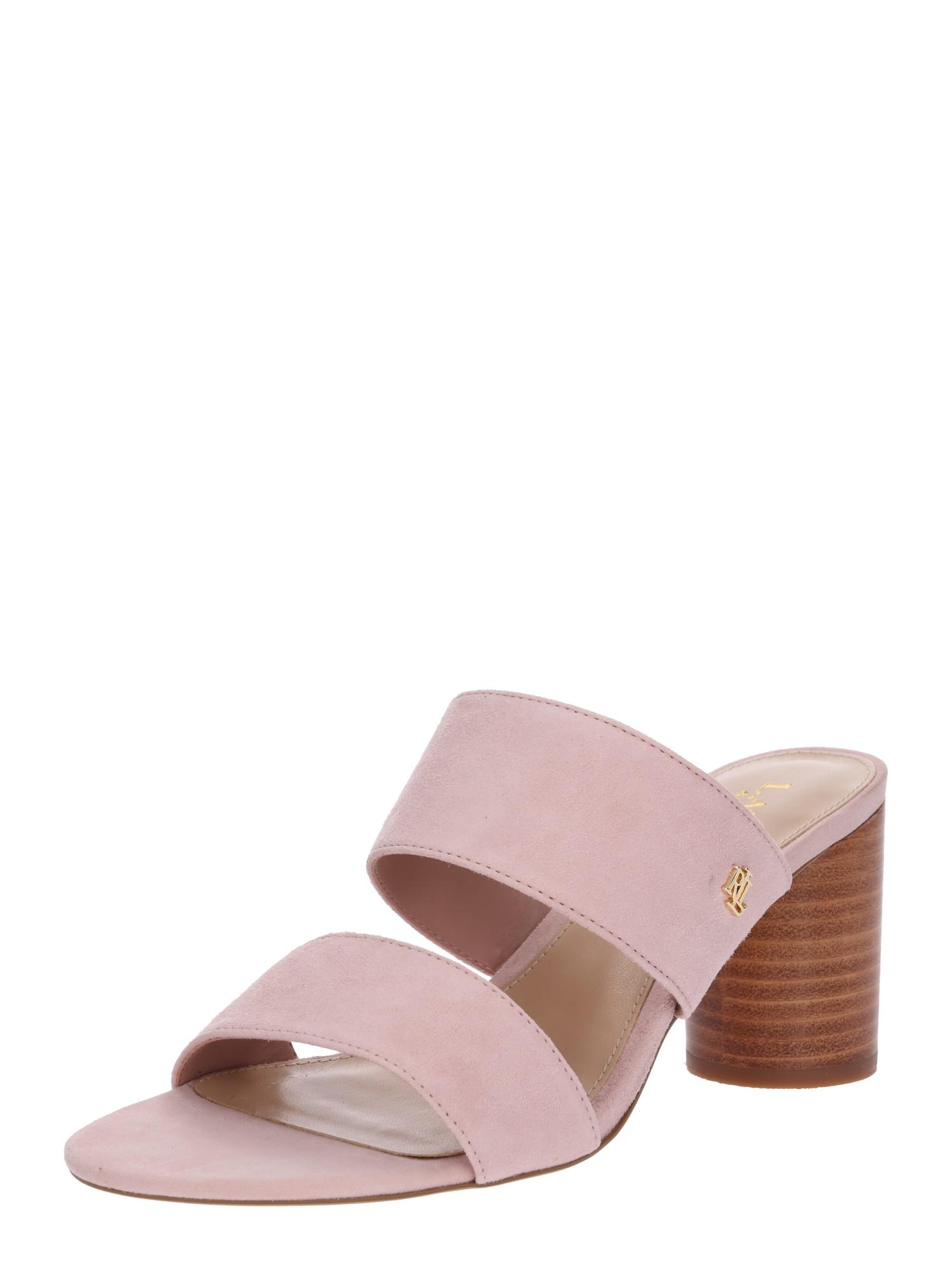 Sandály EMMALEE růžová Lauren Ralph Lauren