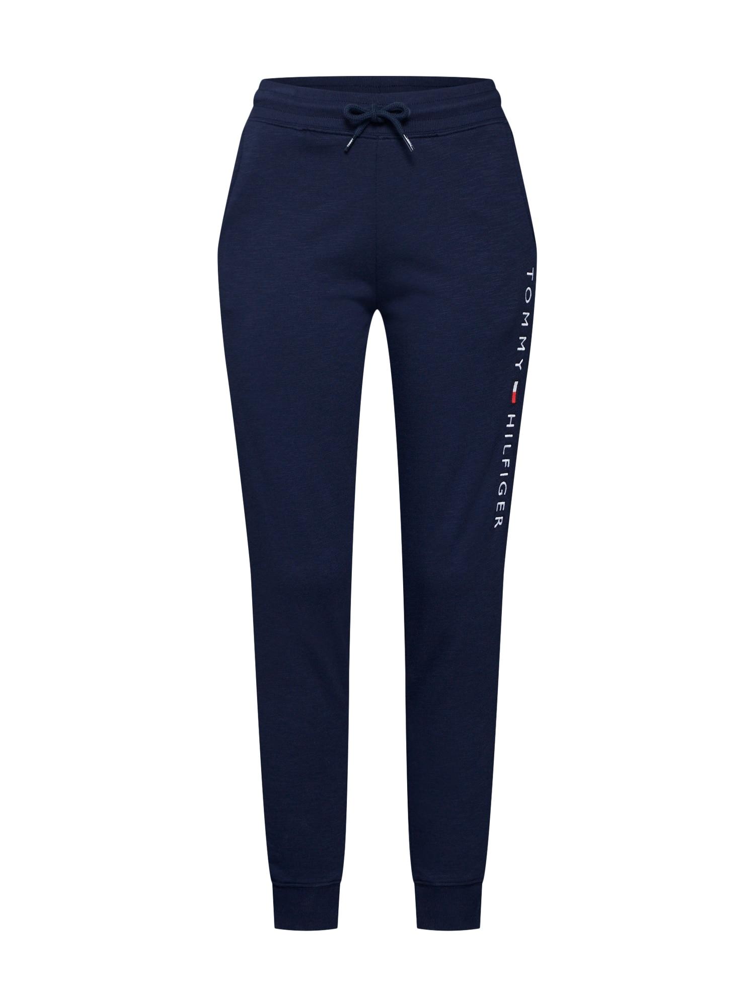 Pyžamové kalhoty CUFFED PANT tmavě modrá Tommy Hilfiger Underwear