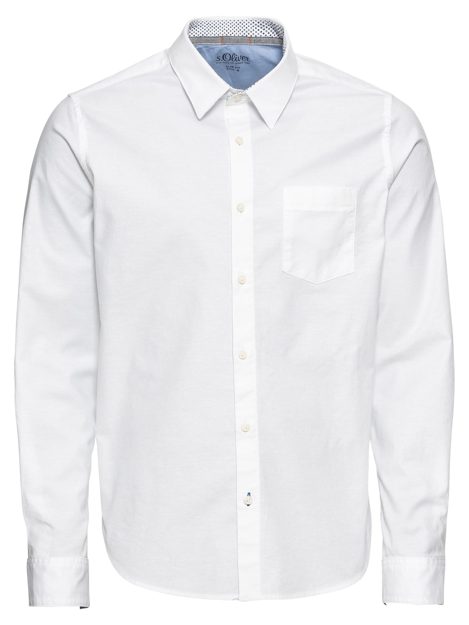 Košile bílá S.Oliver RED LABEL
