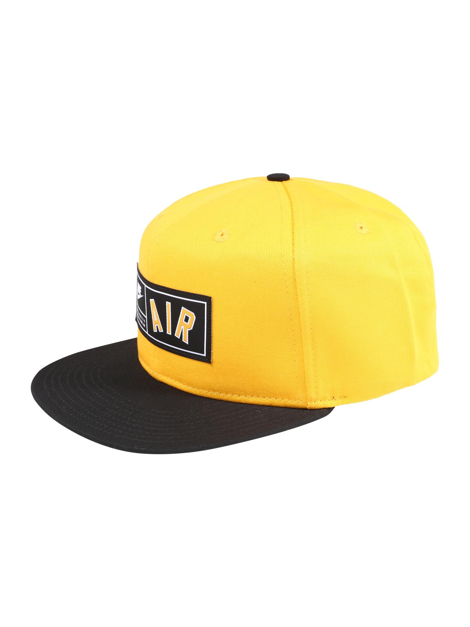 Kšiltovka Nike Air Pro zlatá černá Nike Sportswear