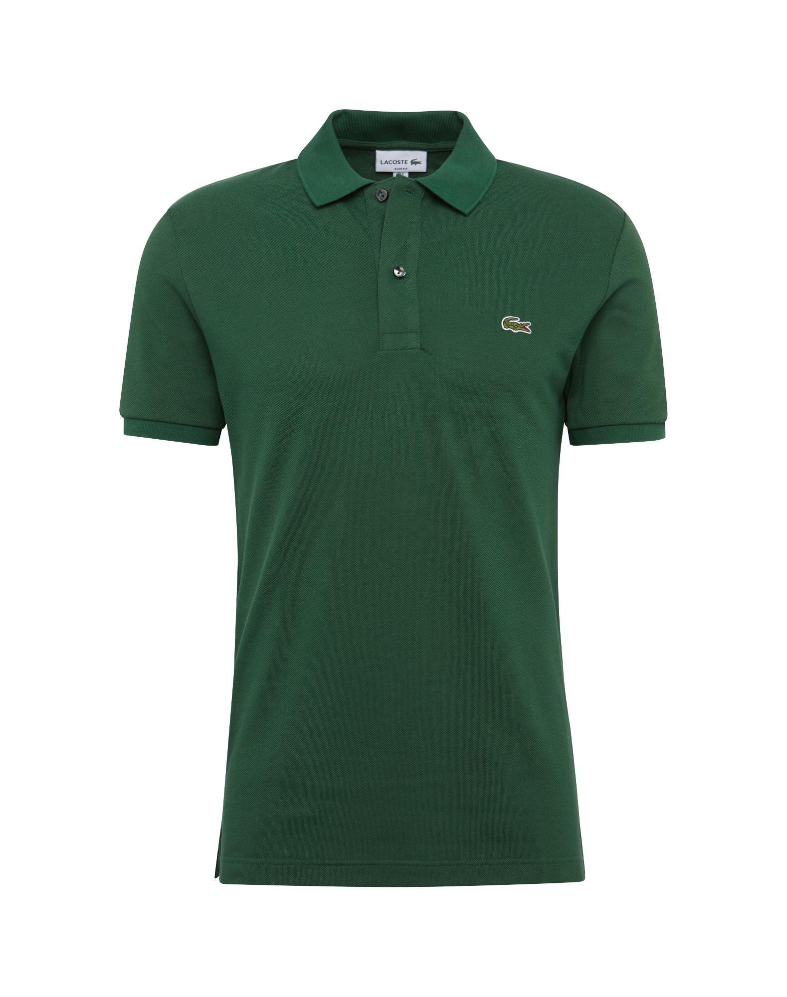 Tričko tmavě zelená LACOSTE