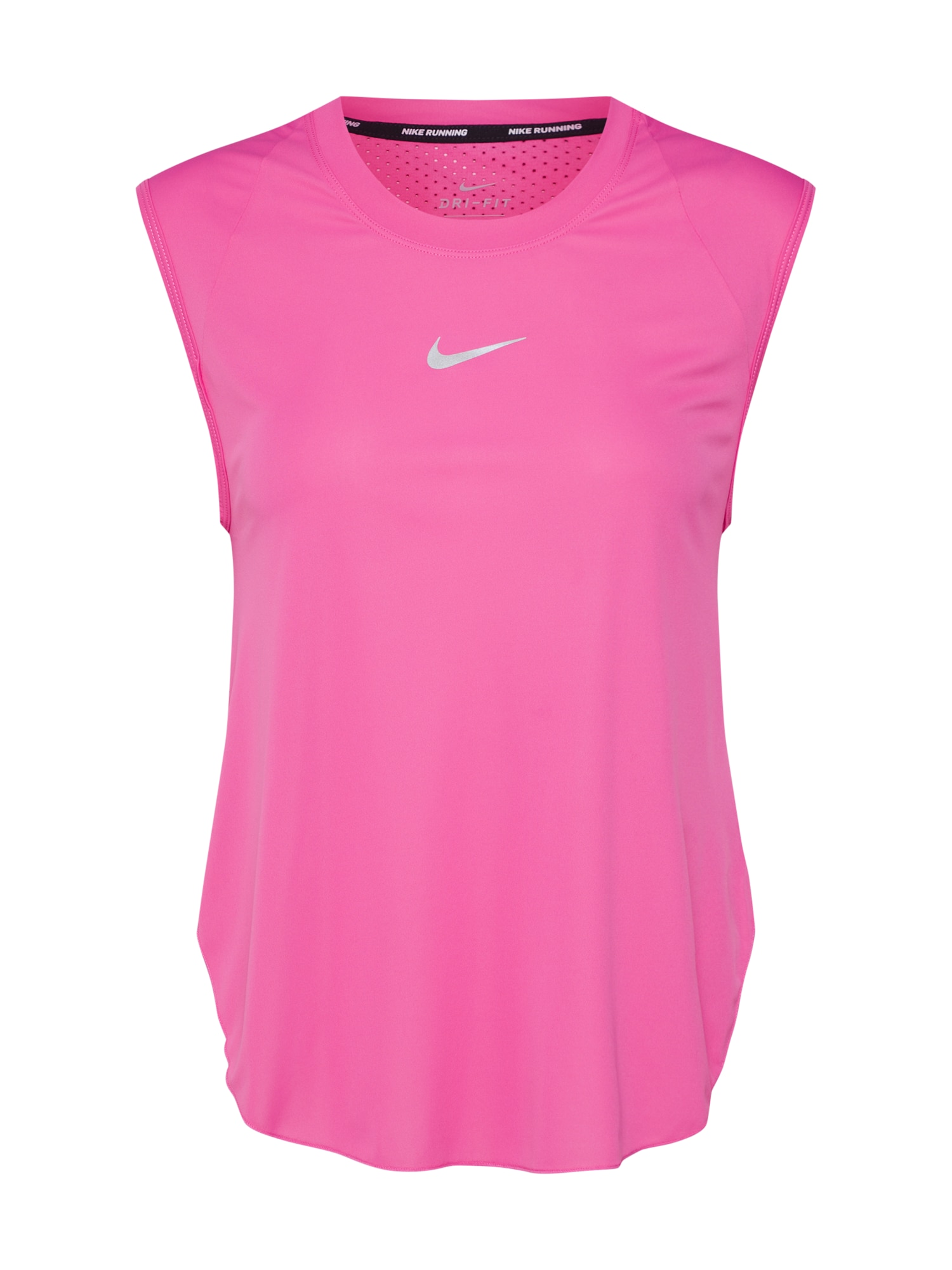 Funkční tričko pink stříbrná NIKE