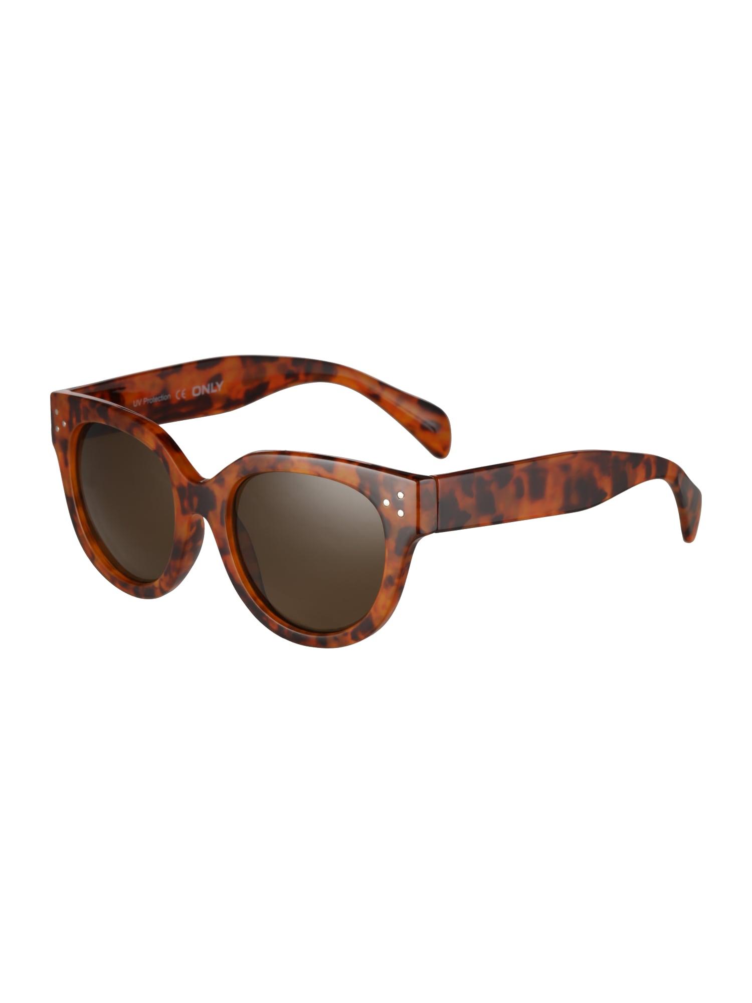 Sluneční brýle onlCLASSIC SUNGLASSES BOX ACC hnědá ONLY