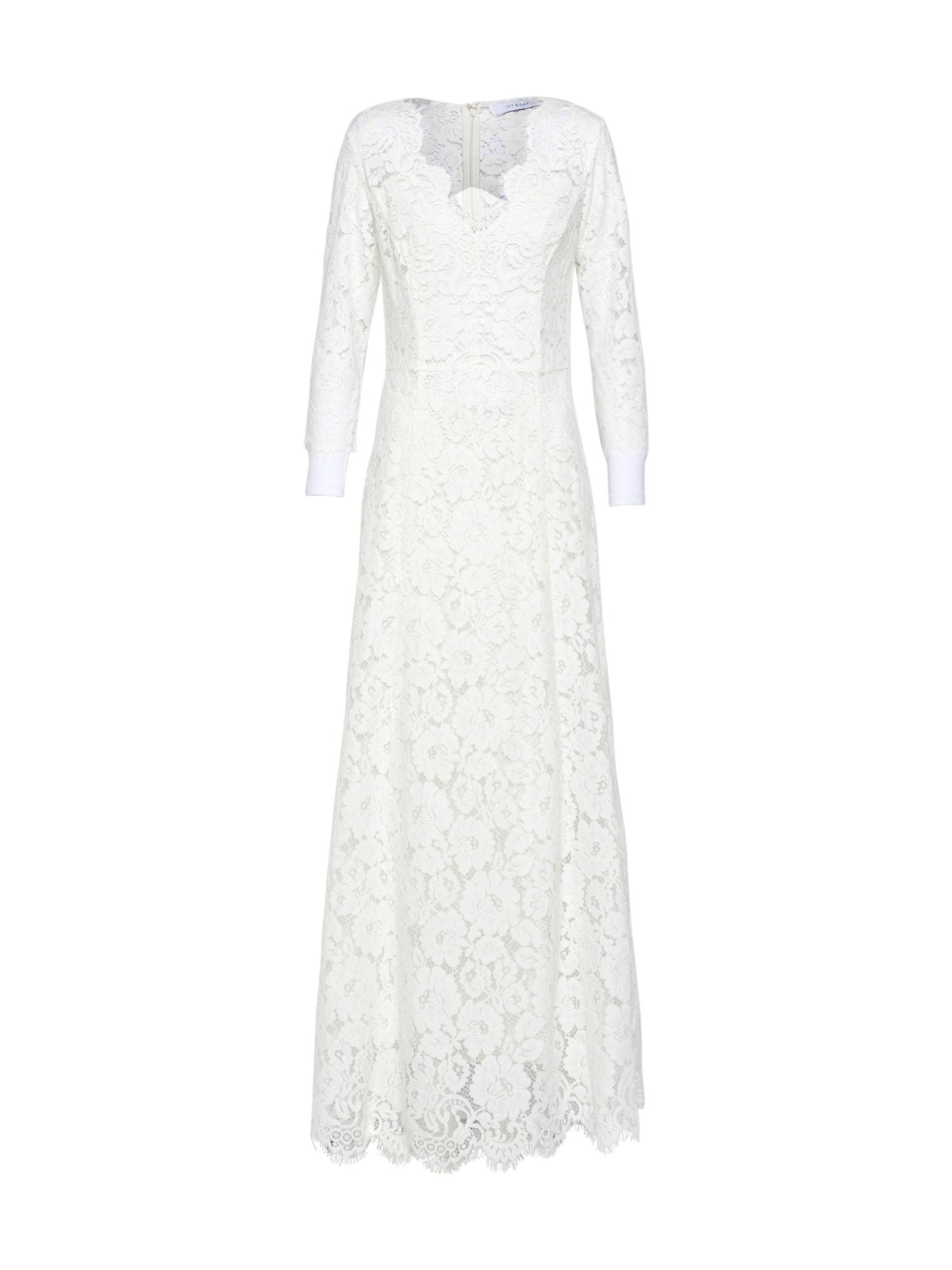 Společenské šaty FLARED bílá IVY & OAK