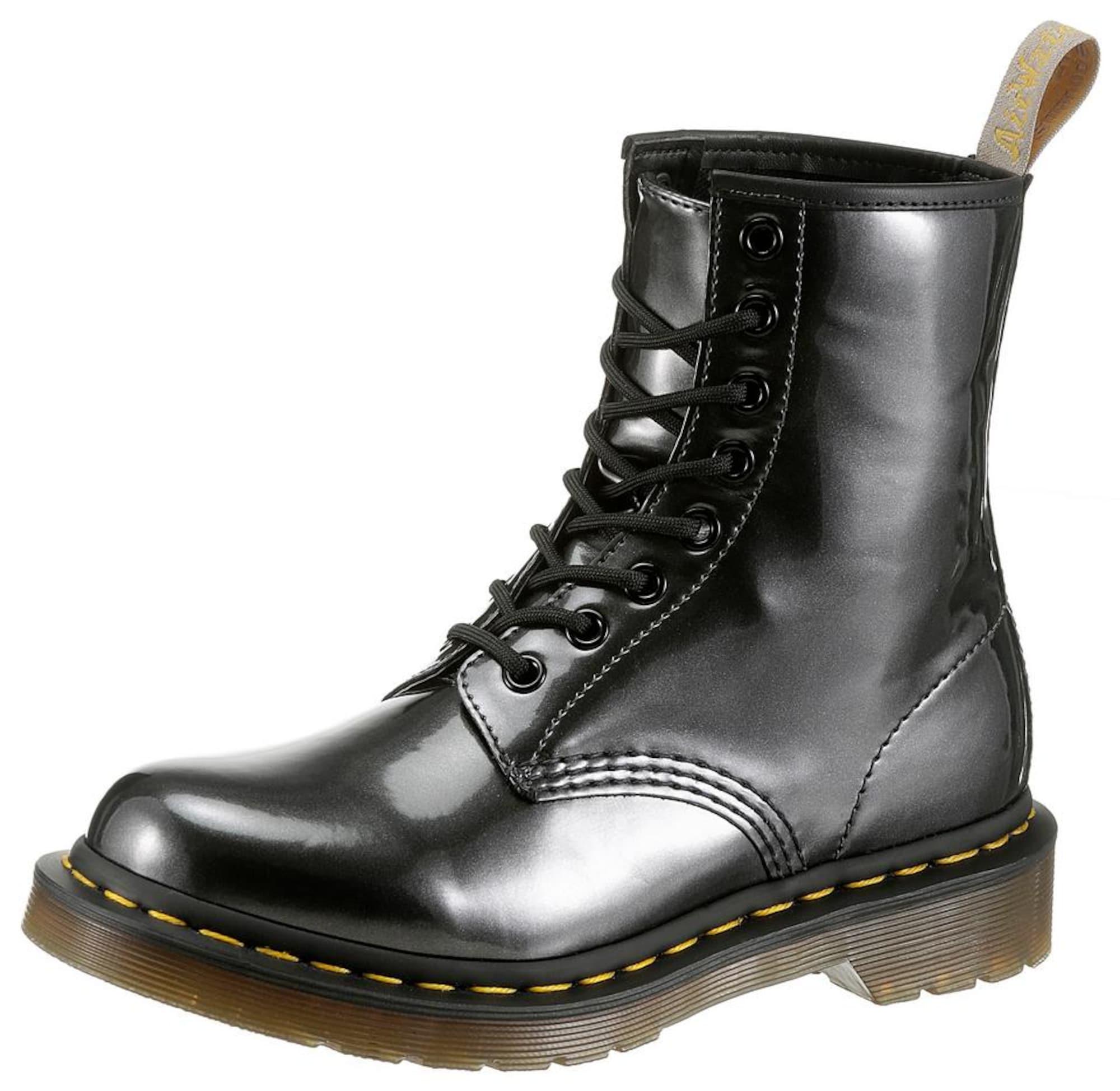 Šněrovací boty Vegan 1460 antracitová Dr. Martens