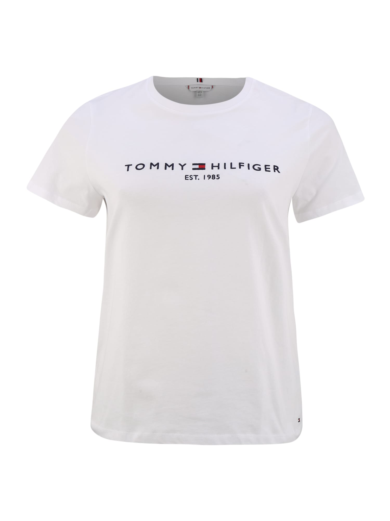 Tommy Hilfiger Curve Tričko  bílá