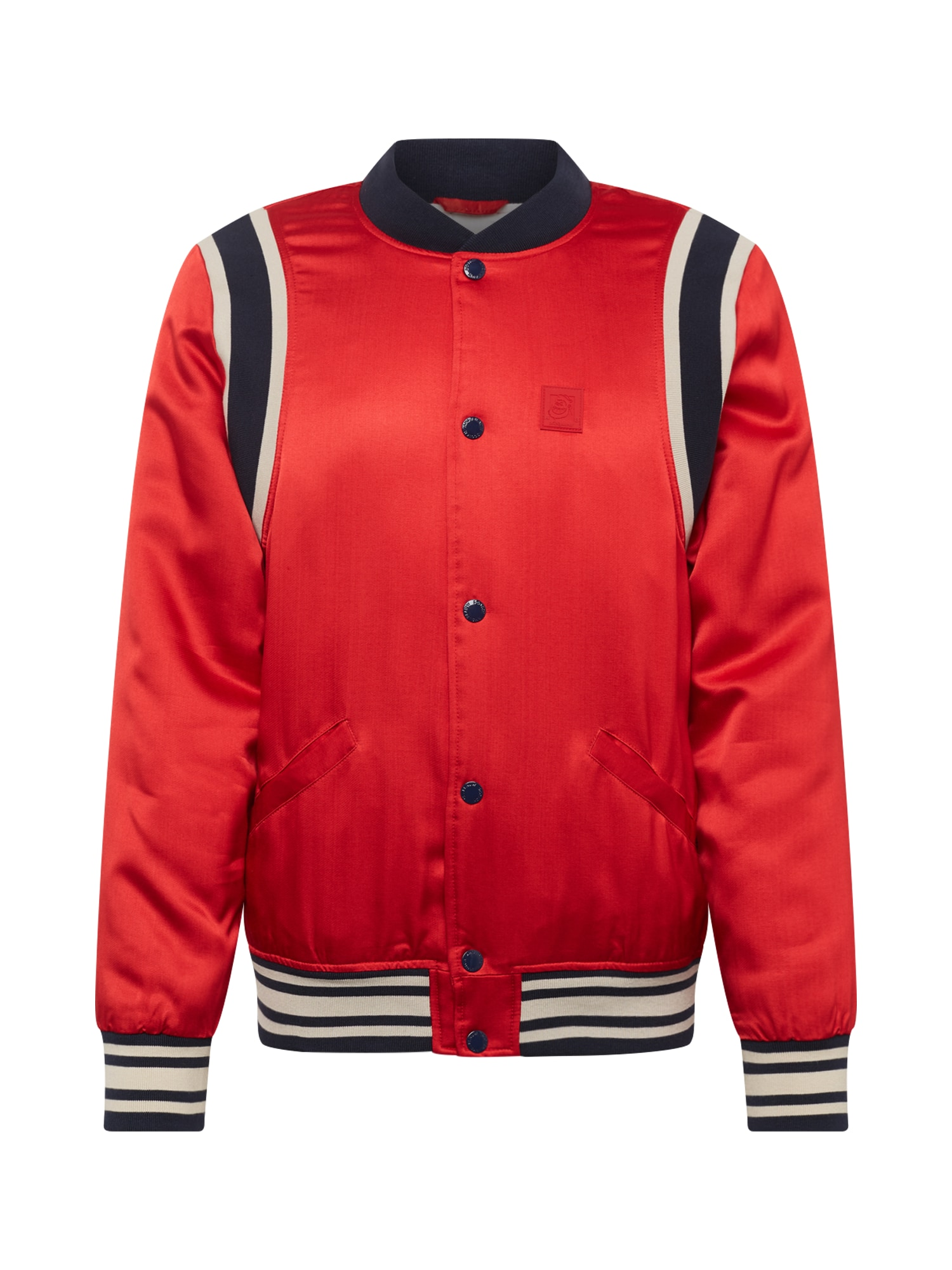 Přechodná bunda Brutus Ams Blauw colab červená černá bílá SCOTCH & SODA
