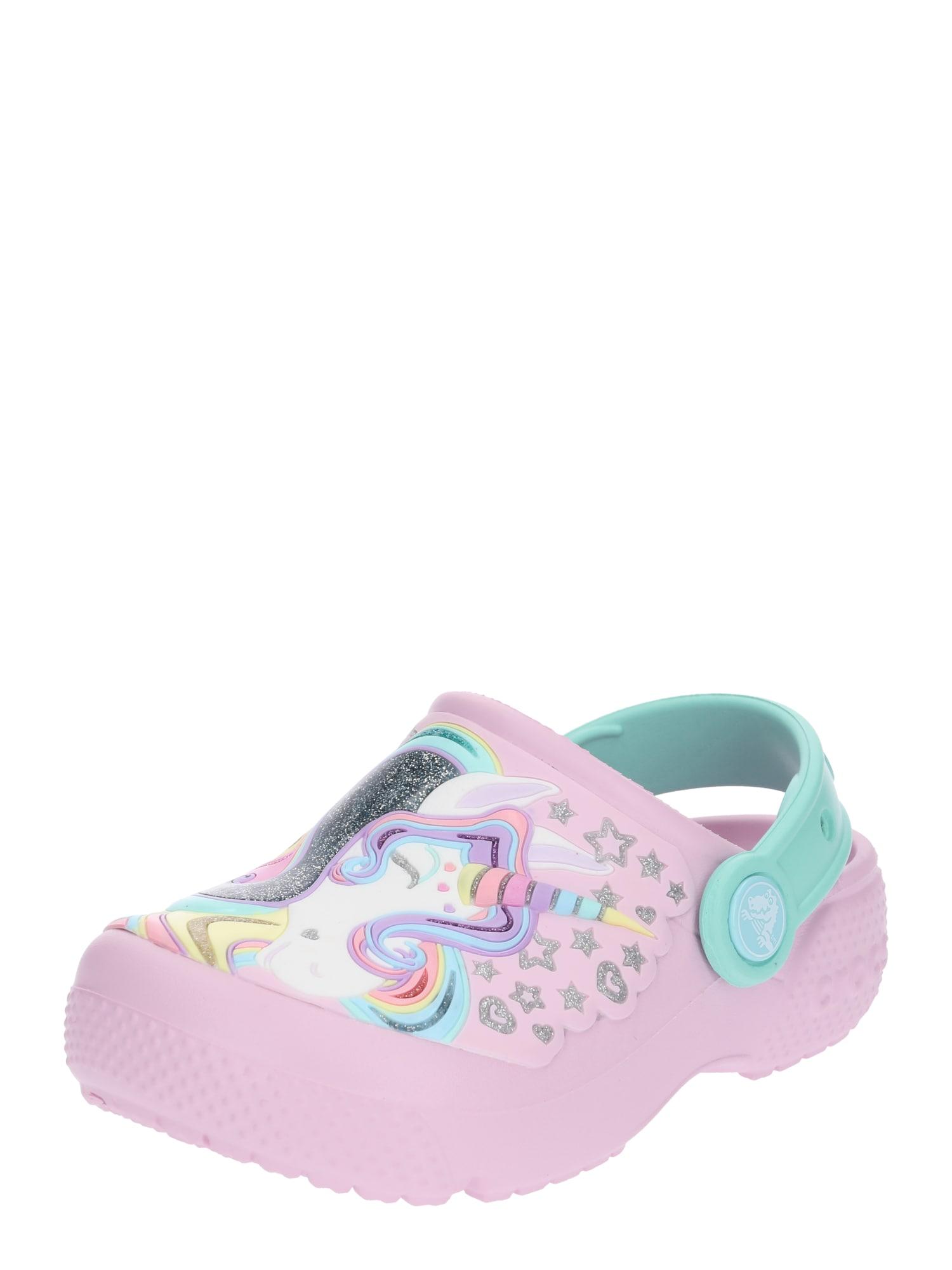 Sandály Fun Lab mátová bledě fialová Crocs
