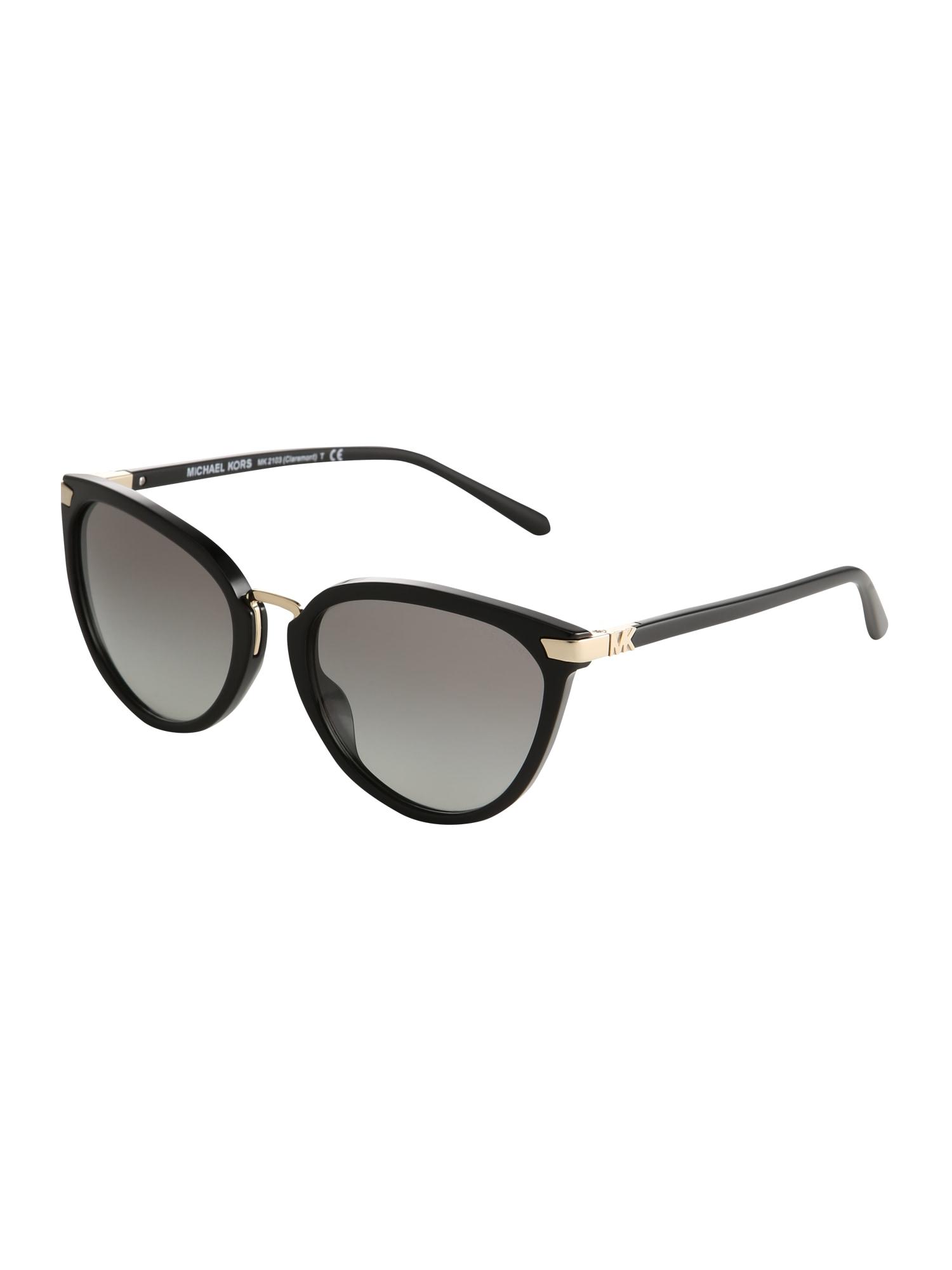 Sluneční brýle CLAREMONT černá Michael Kors